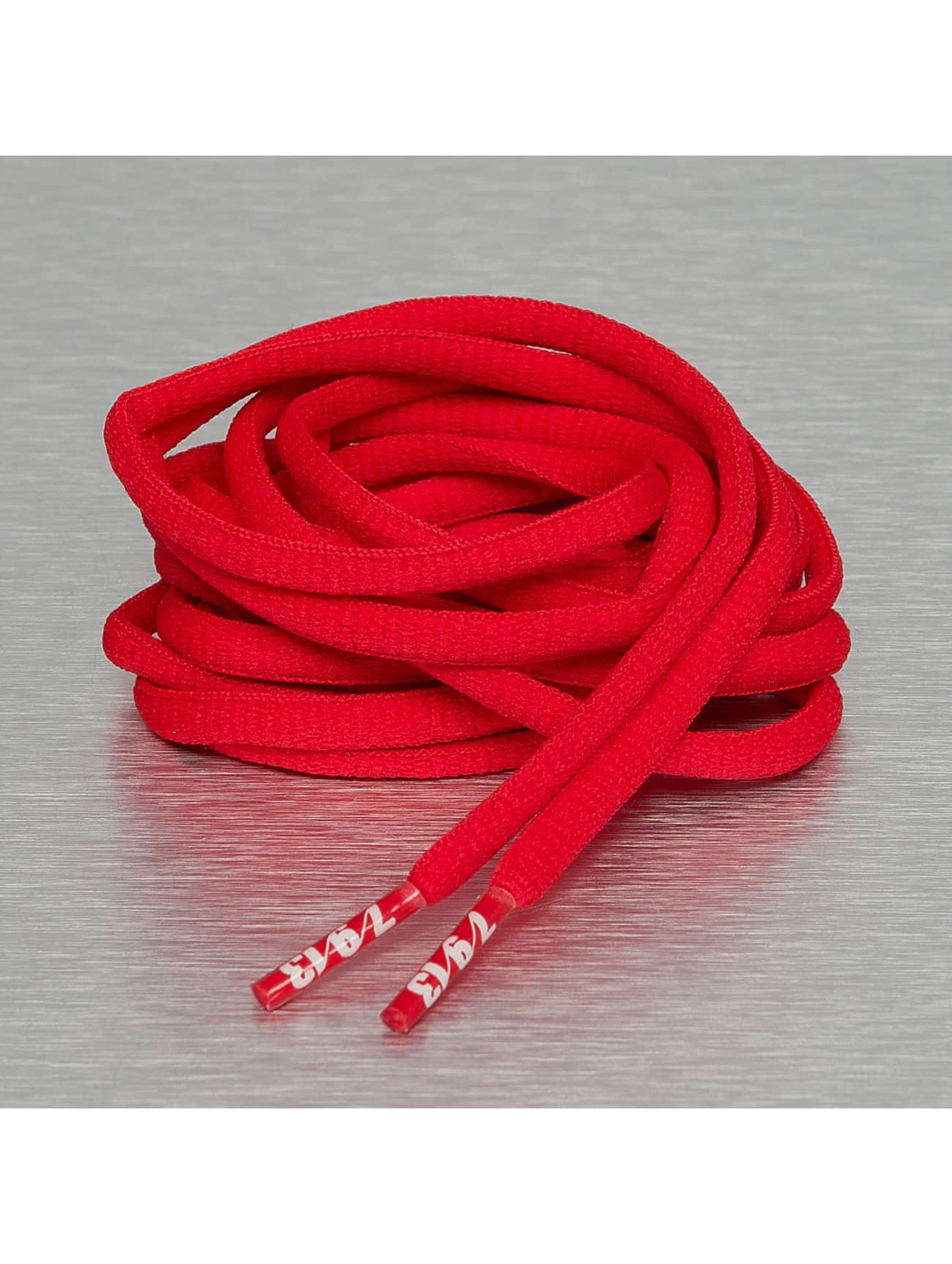 Seven Nine 13 Shoelace Hard Candy Round red