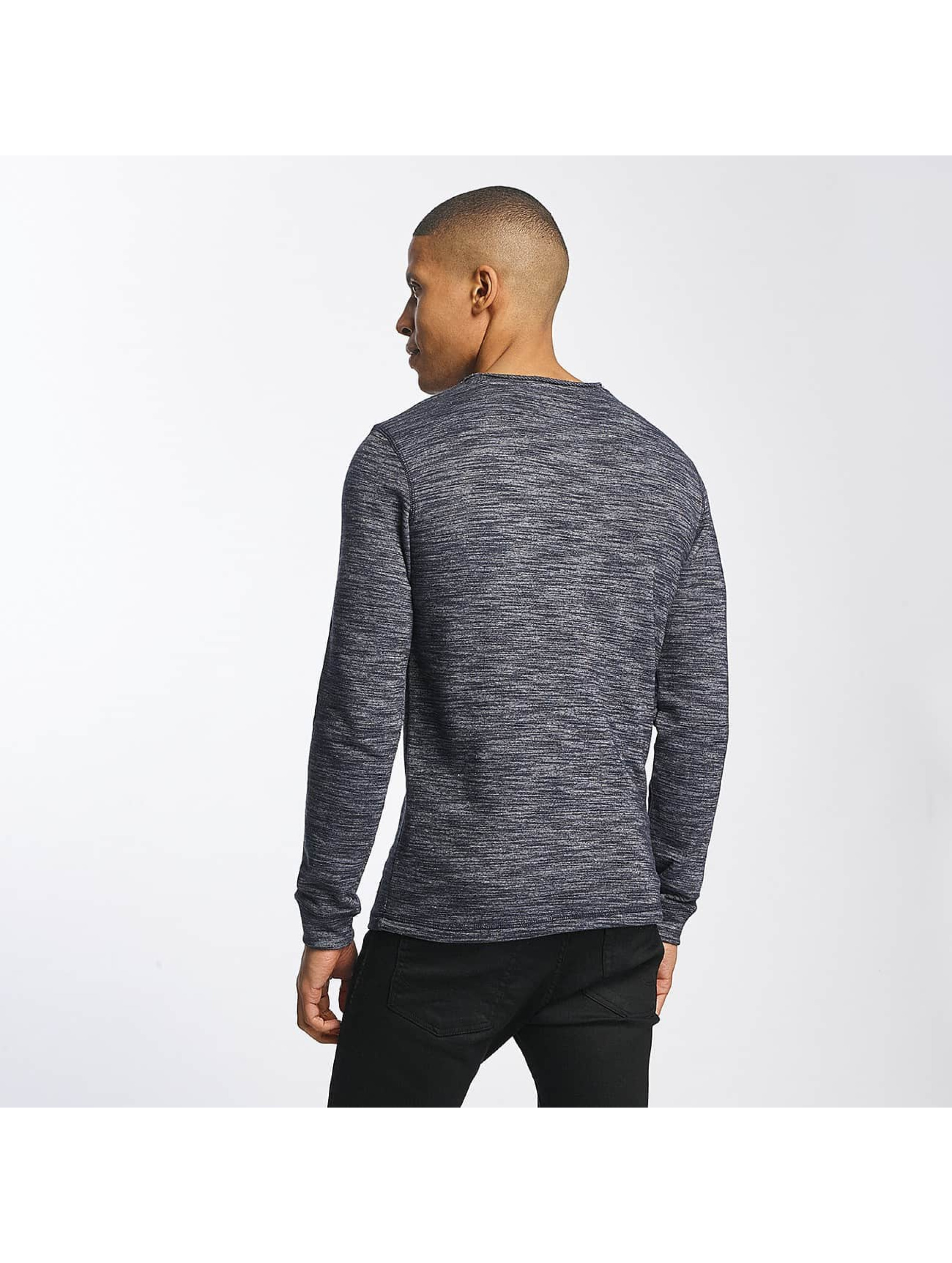 SHINE Original Pullover Malcom Pocket Inside Out blue