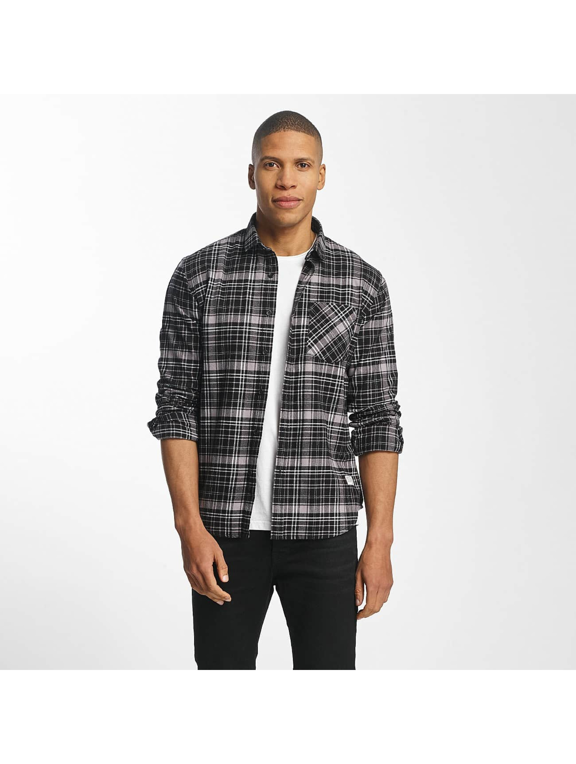 SHINE Original Shirt Luis Checked black