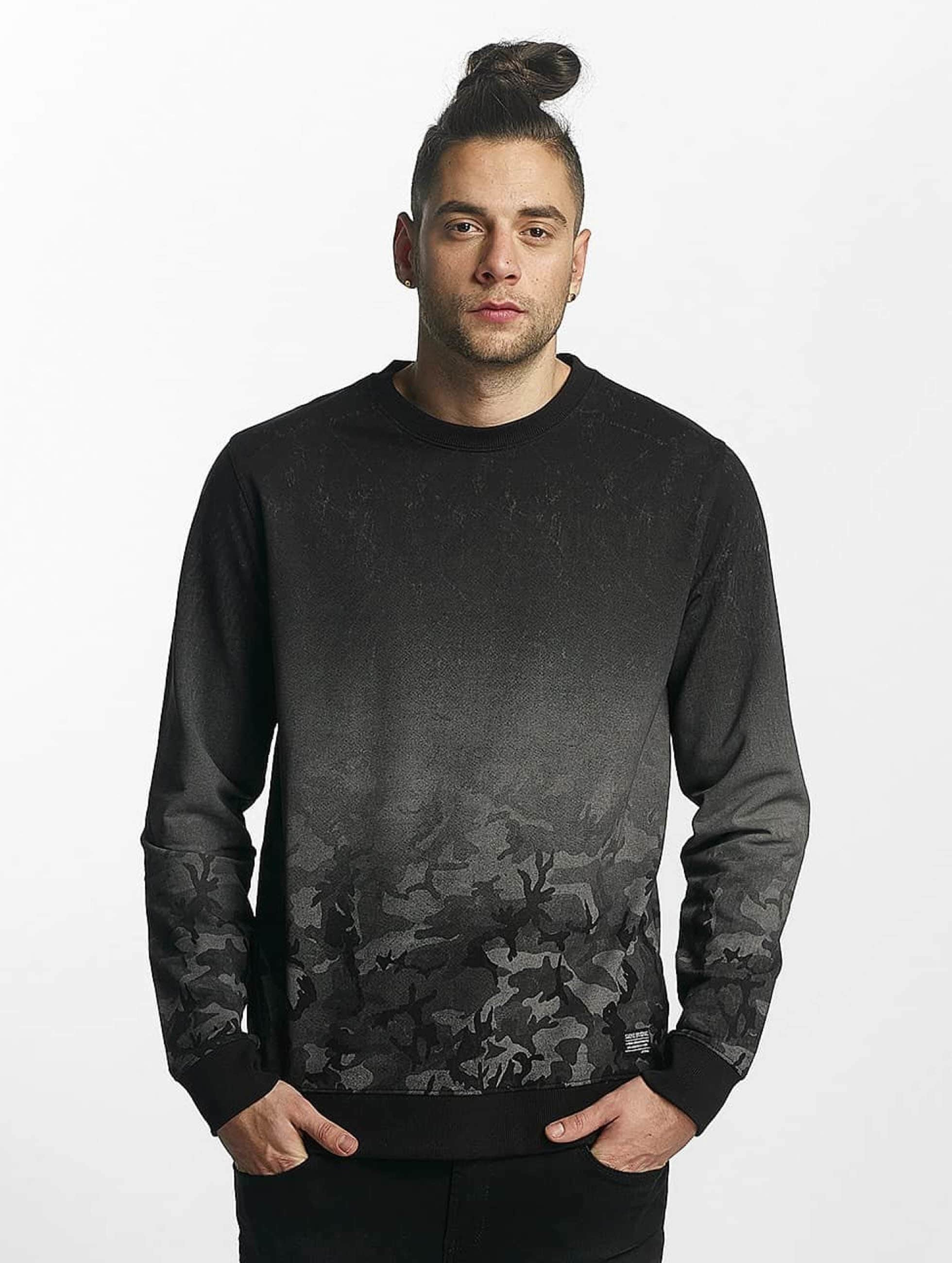 8c8f43185db18 SHINE Original   Original Grady noir Homme Sweat   Pull SHINE Original acheter  pas cher Haut 392533