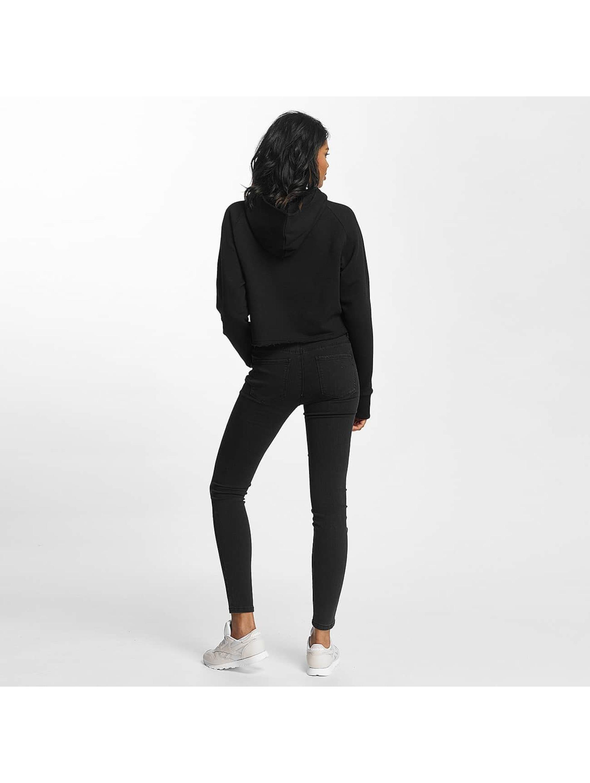 Shisha  Hoodie Cropped black