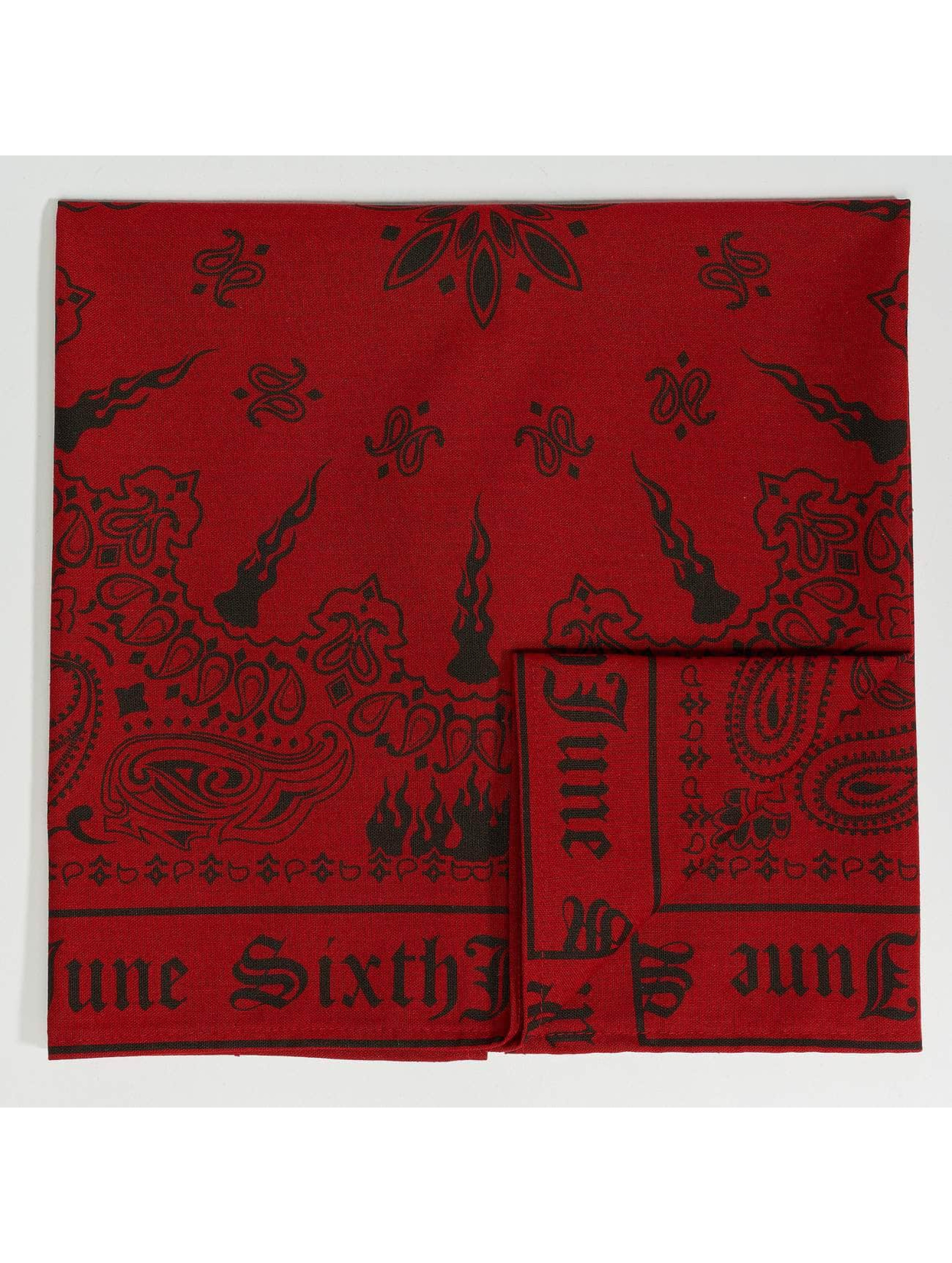 Sixth June Bandana/Durag Bandana red