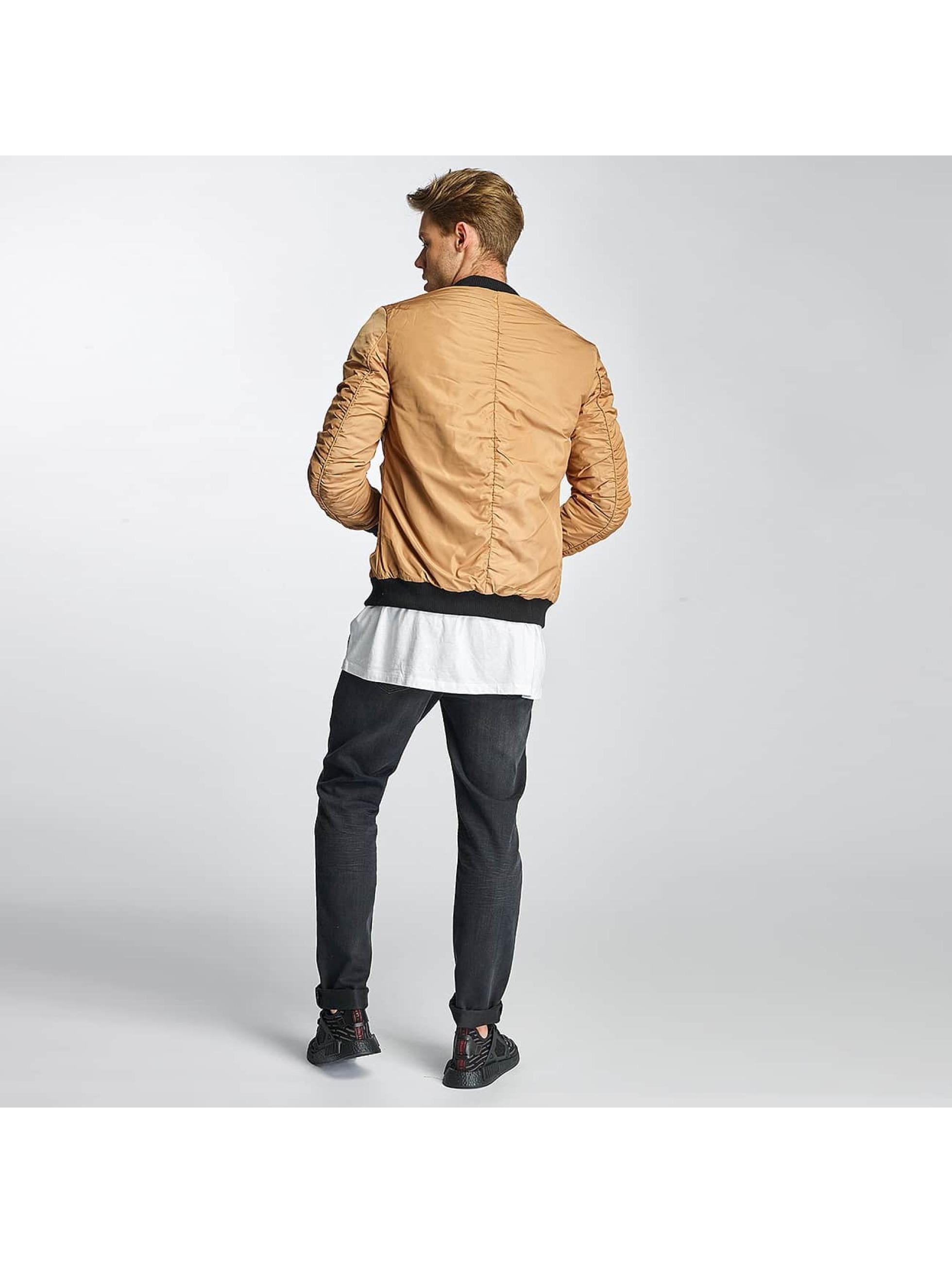 Sixth June Bomber jacket Padded beige