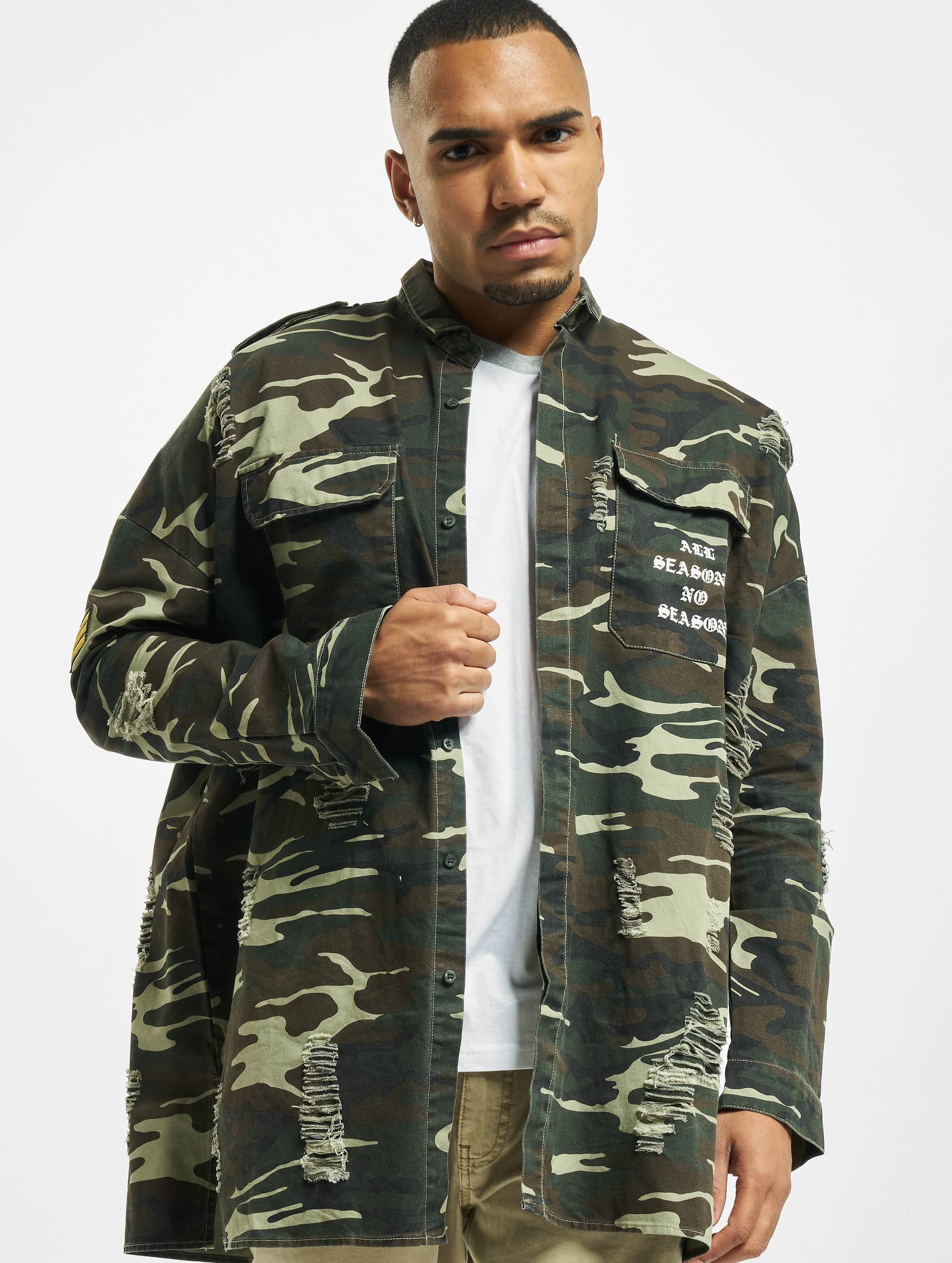 sixth june herren hemd oversized overshir in camouflage 327990. Black Bedroom Furniture Sets. Home Design Ideas