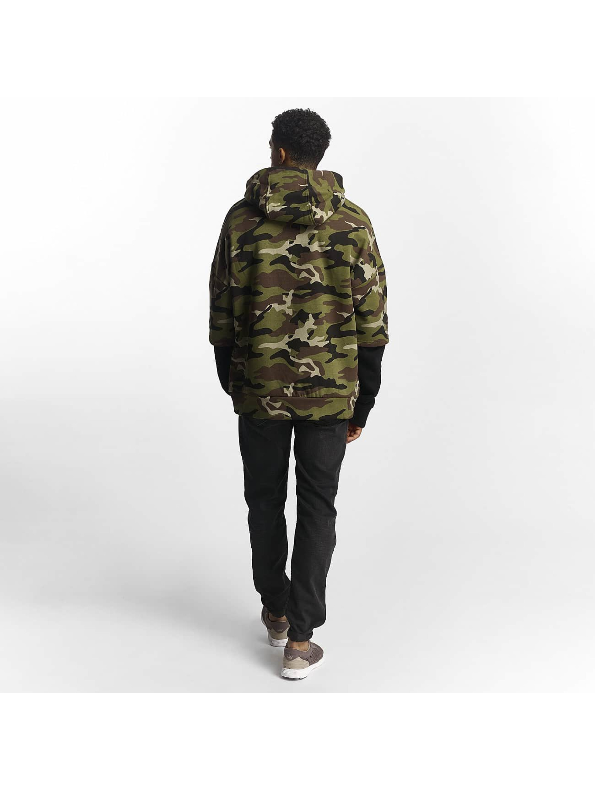 Sixth June Hoodie Double Sleeve camouflage