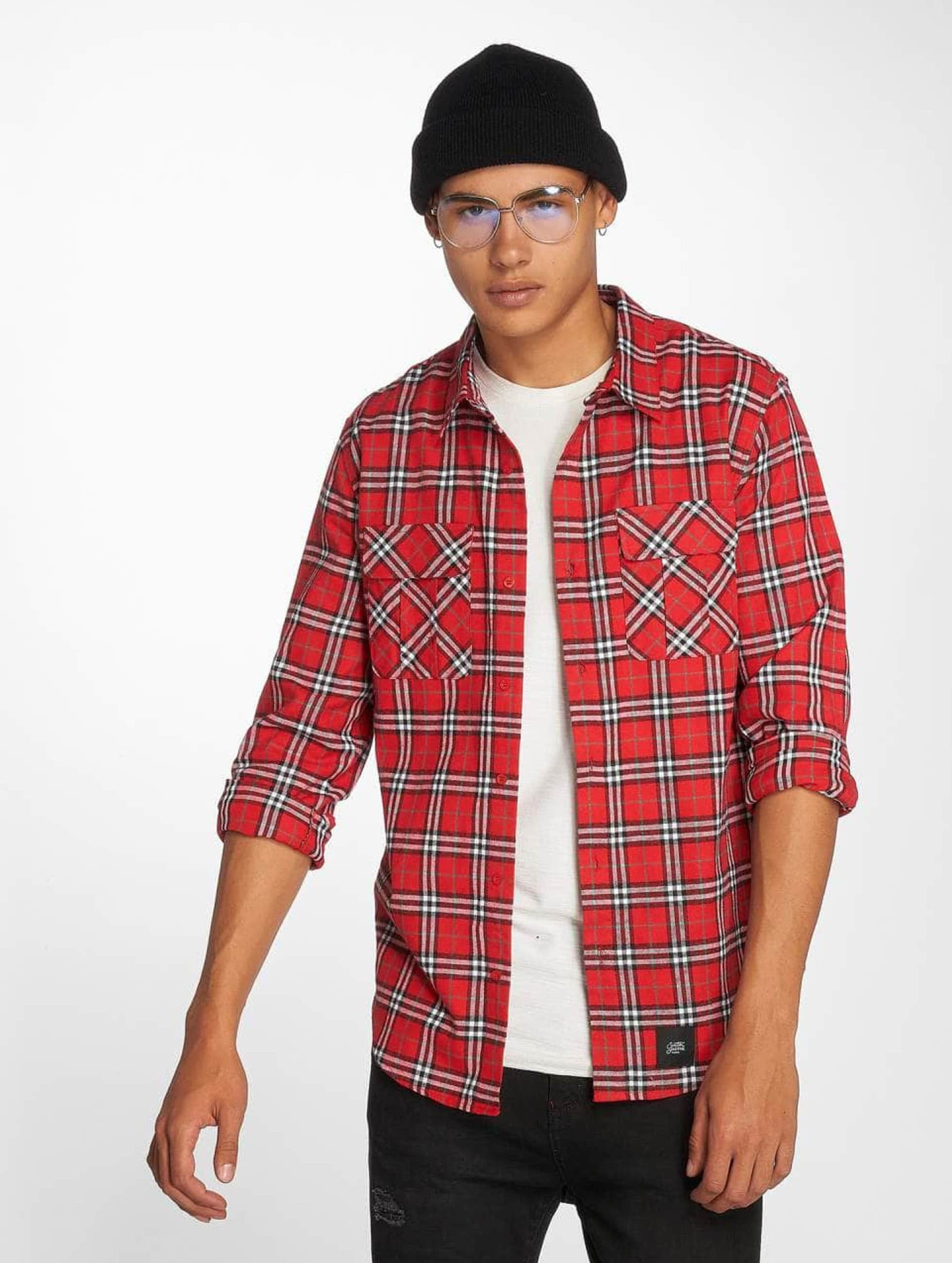 Sixth June Shirt Karo red