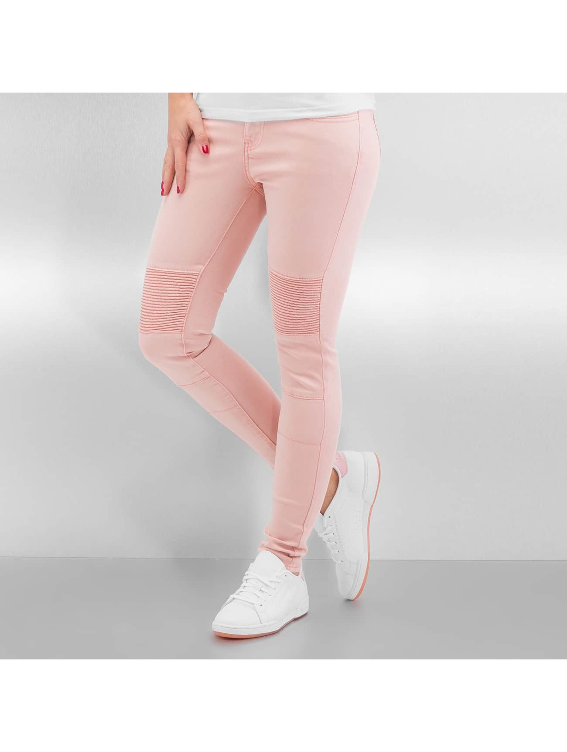 Sixth June Skinny Jeans Biker rose