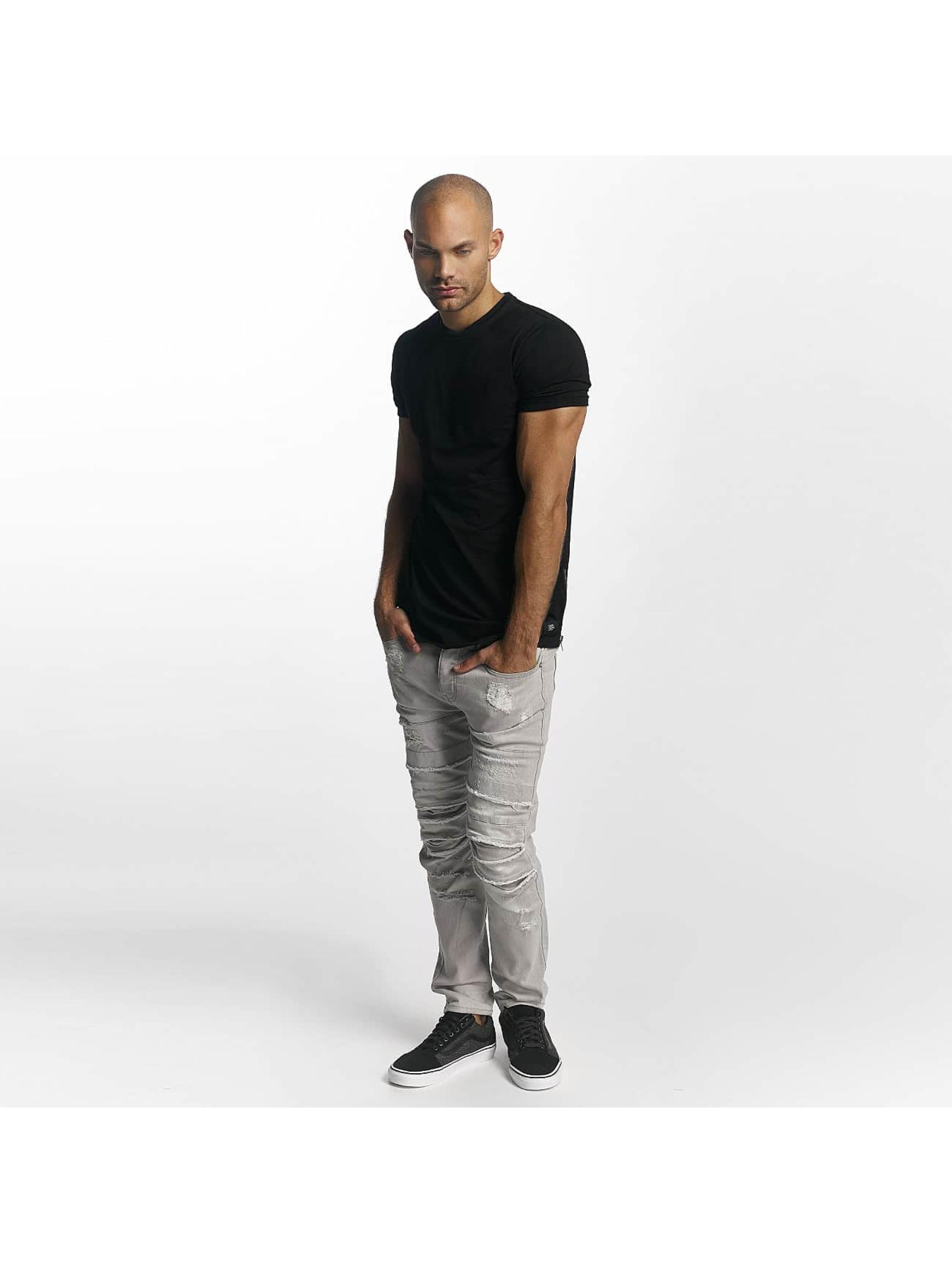 Sixth June T-Shirt Skinny Round Bottom black