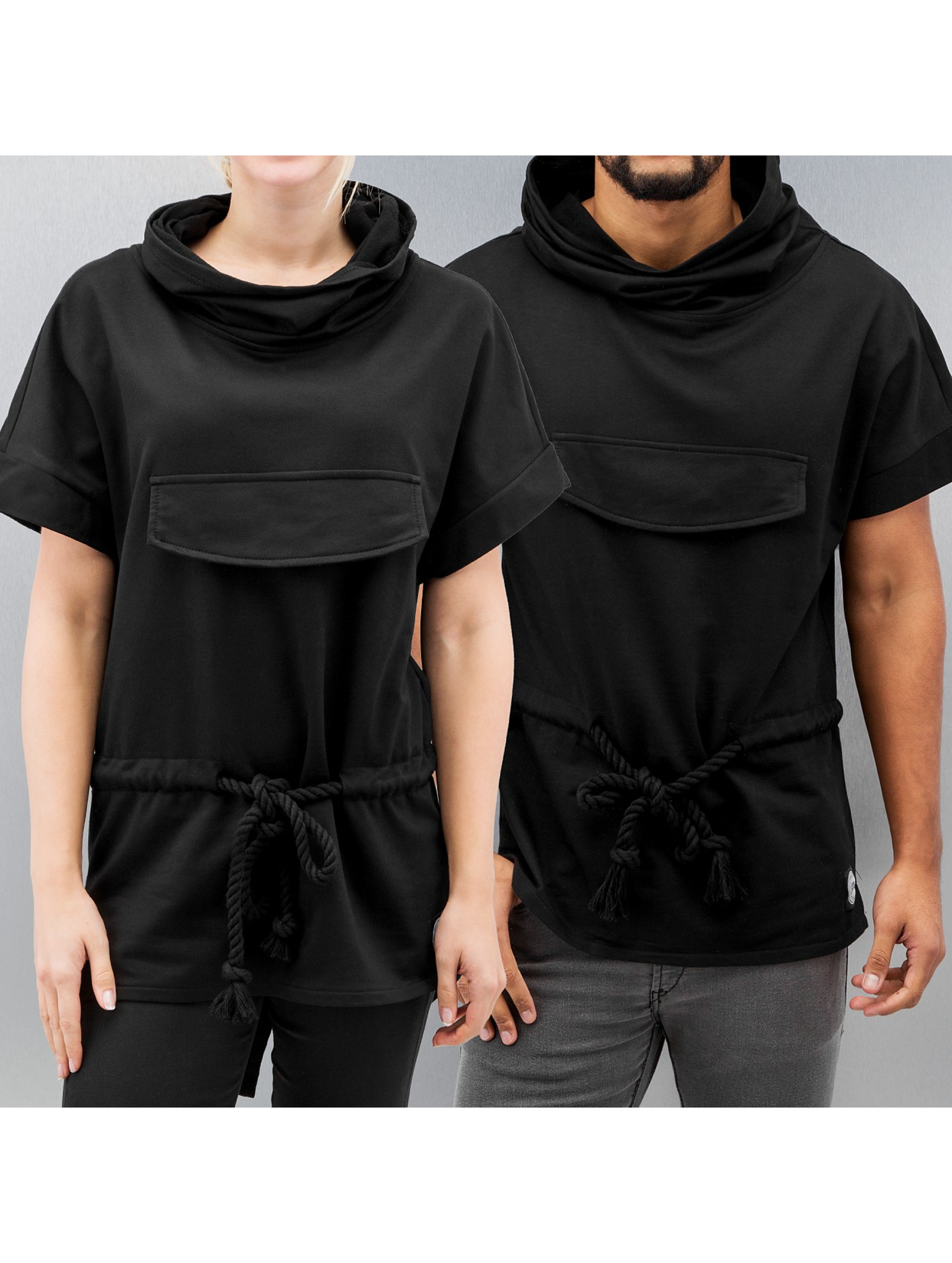 sixth june oberteil t shirt oversized in schwarz 174963. Black Bedroom Furniture Sets. Home Design Ideas