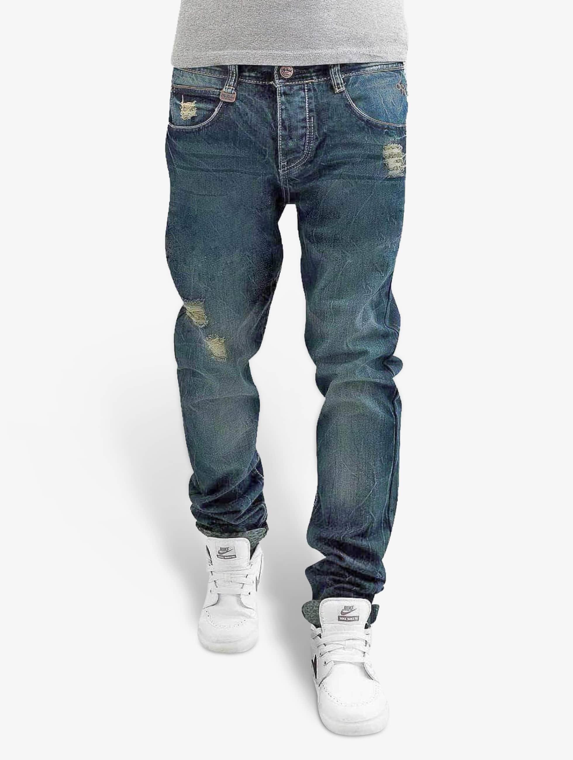 sky rebel jeans straight fit jeans sky rebel in blauw 117915. Black Bedroom Furniture Sets. Home Design Ideas