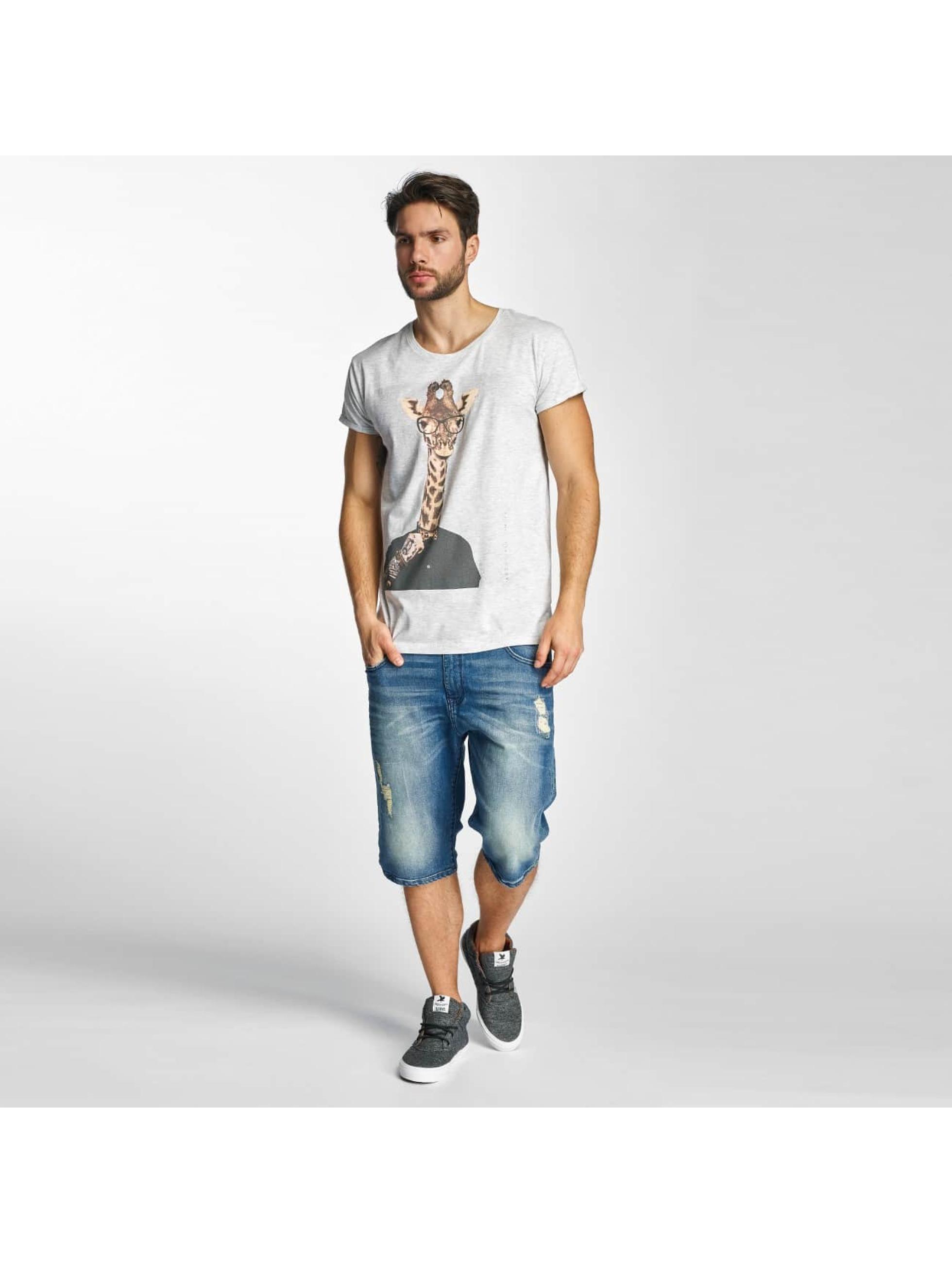 Sky Rebel T-Shirt Luke gray