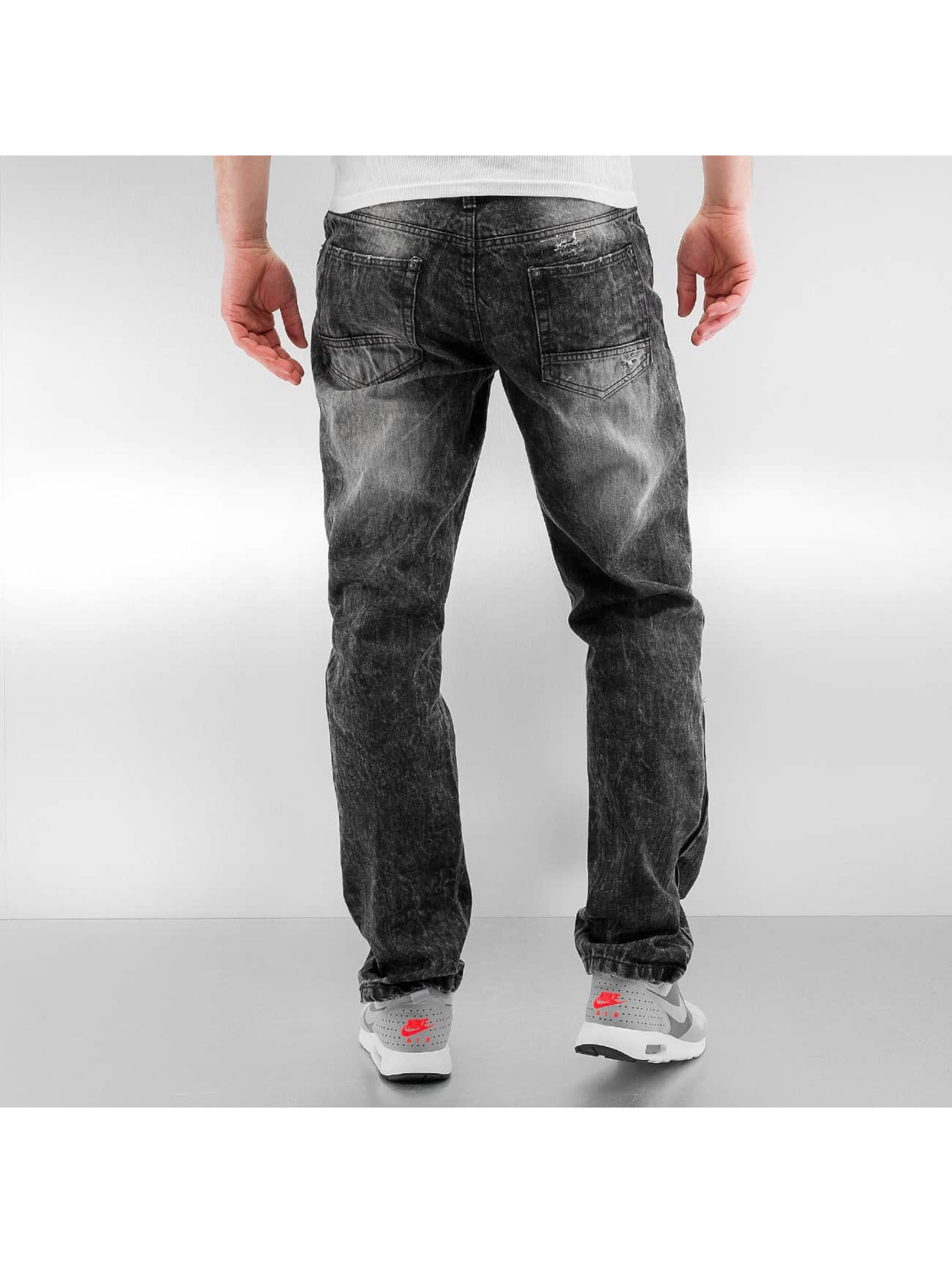 Southpole Slim Fit Jeans Ripped Slim black