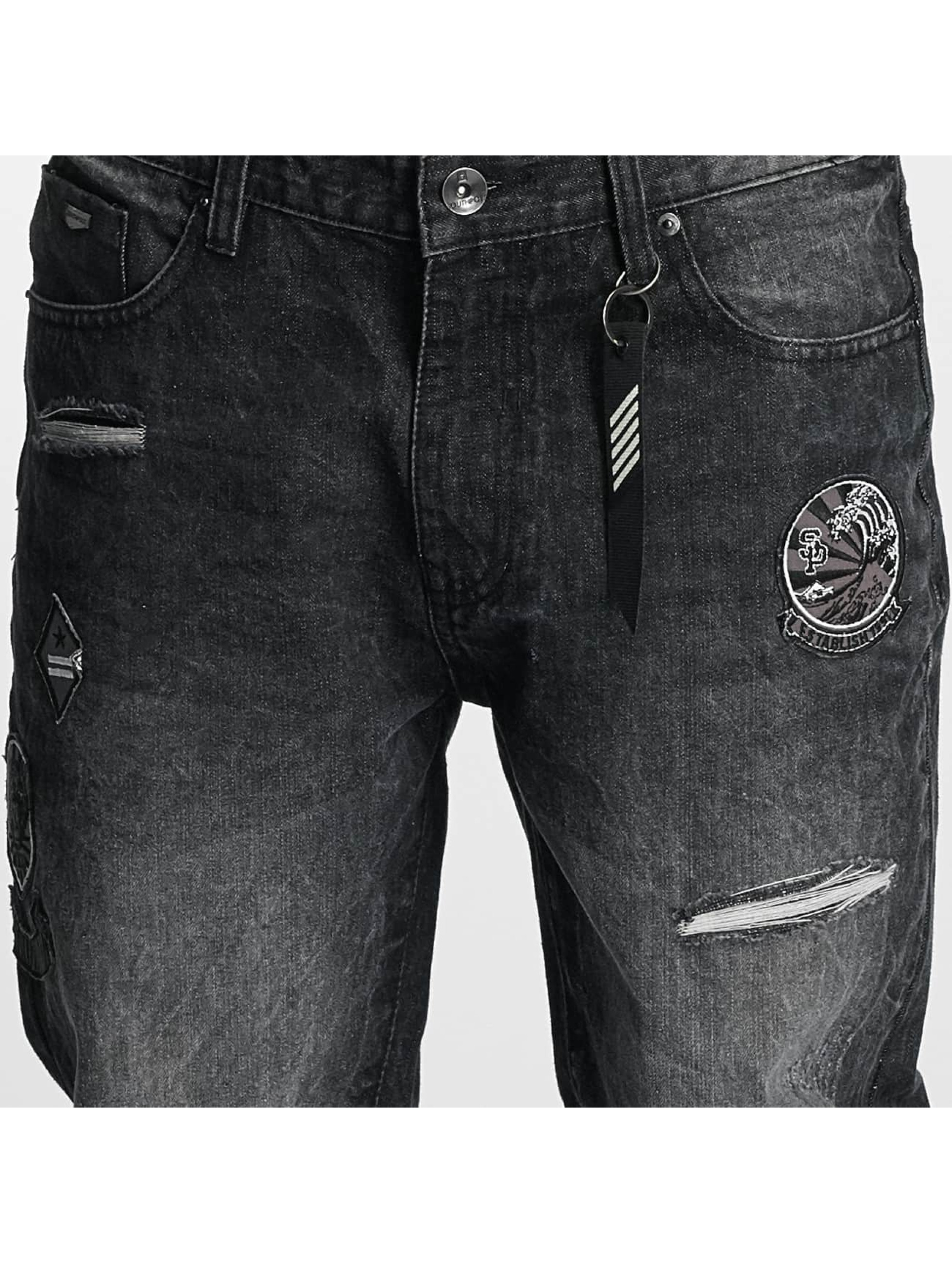 Southpole Straight Fit Jeans Tinted Wash black