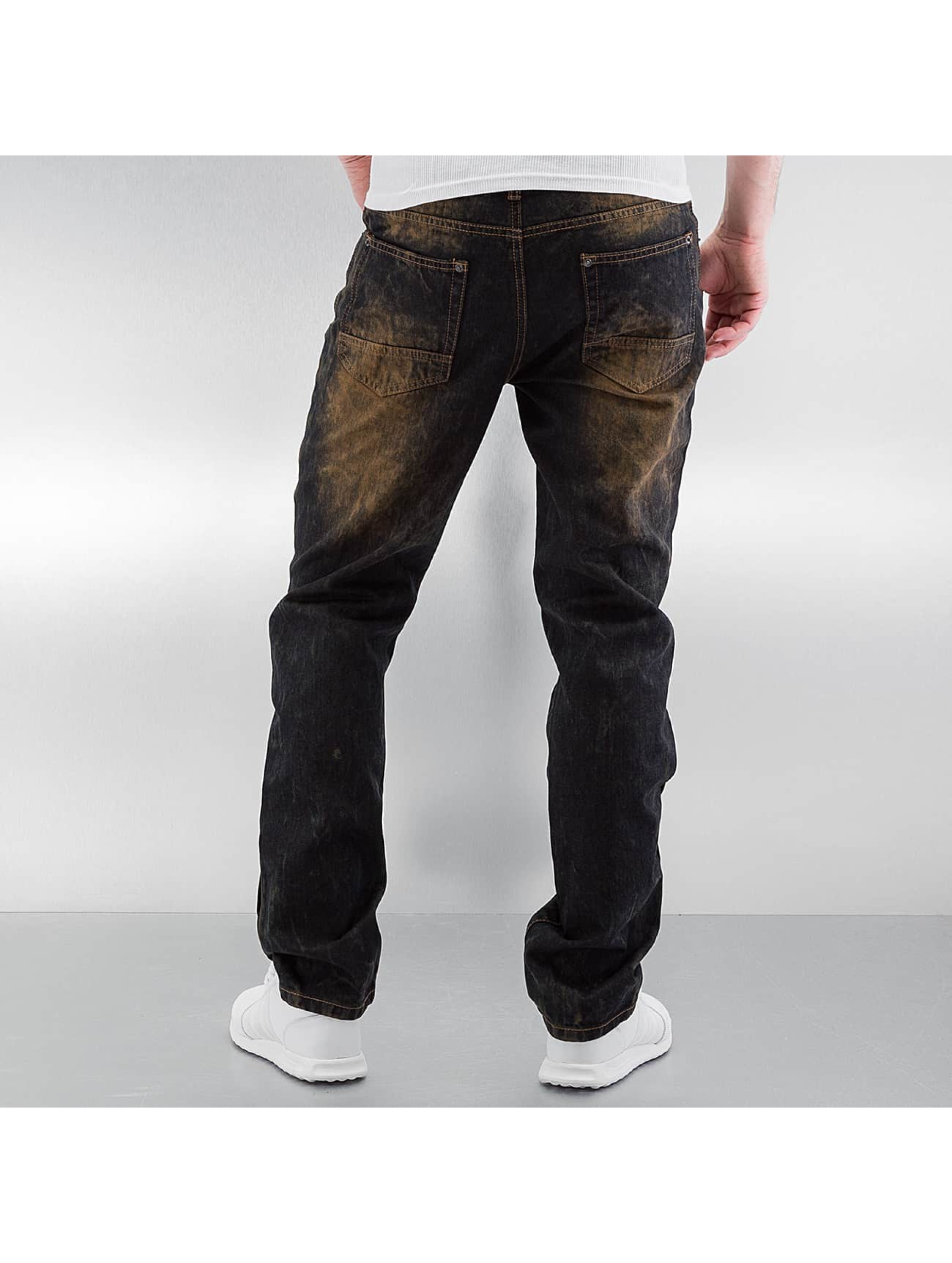 Southpole Straight Fit Jeans Ripped Slim indigo
