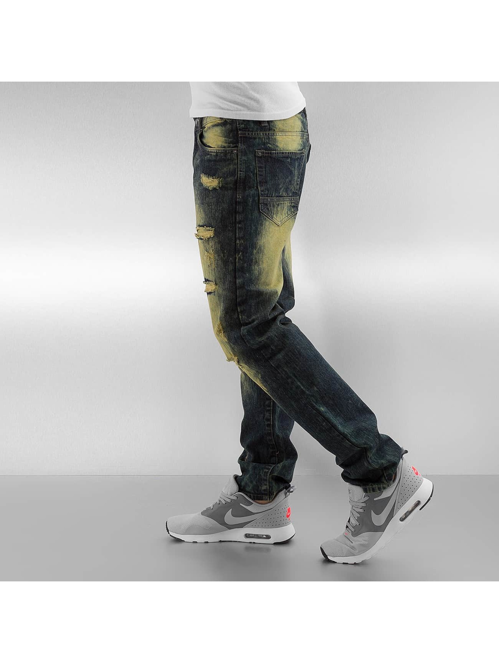 Southpole Straight Fit Jeans Ripped Slim olive