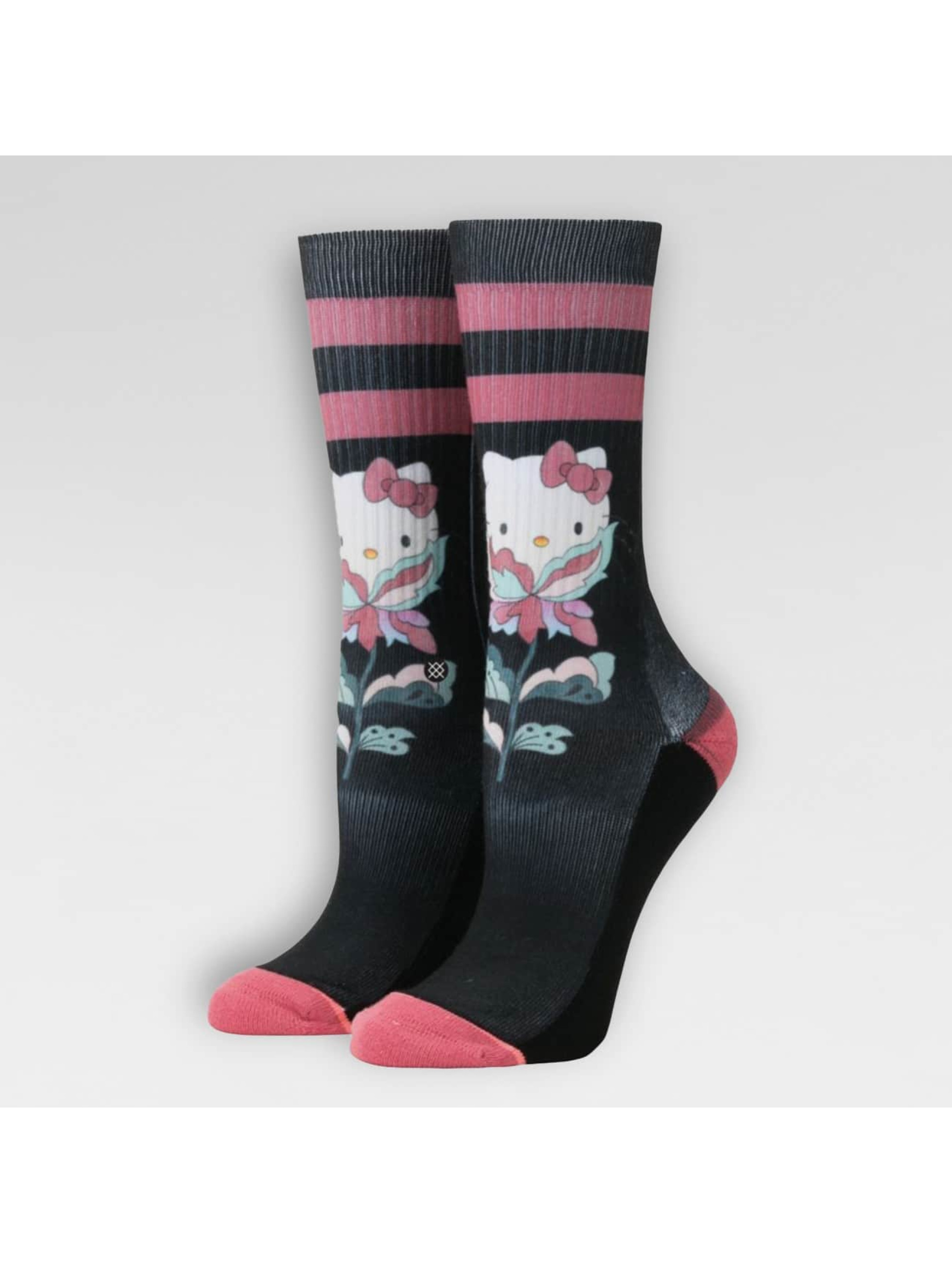 Stance Socks Flower Friend black