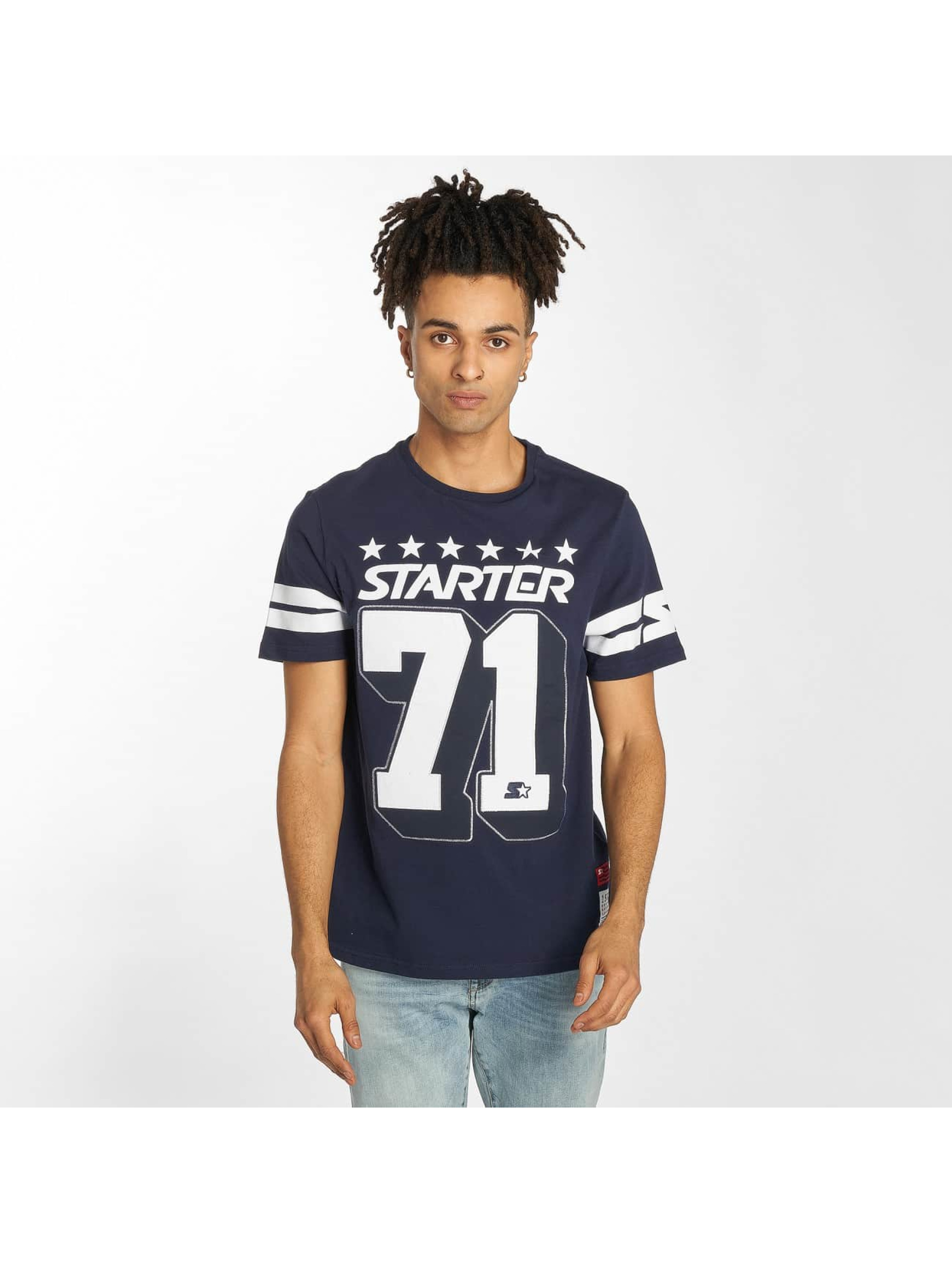 Starter T-Shirt Cracraft blue