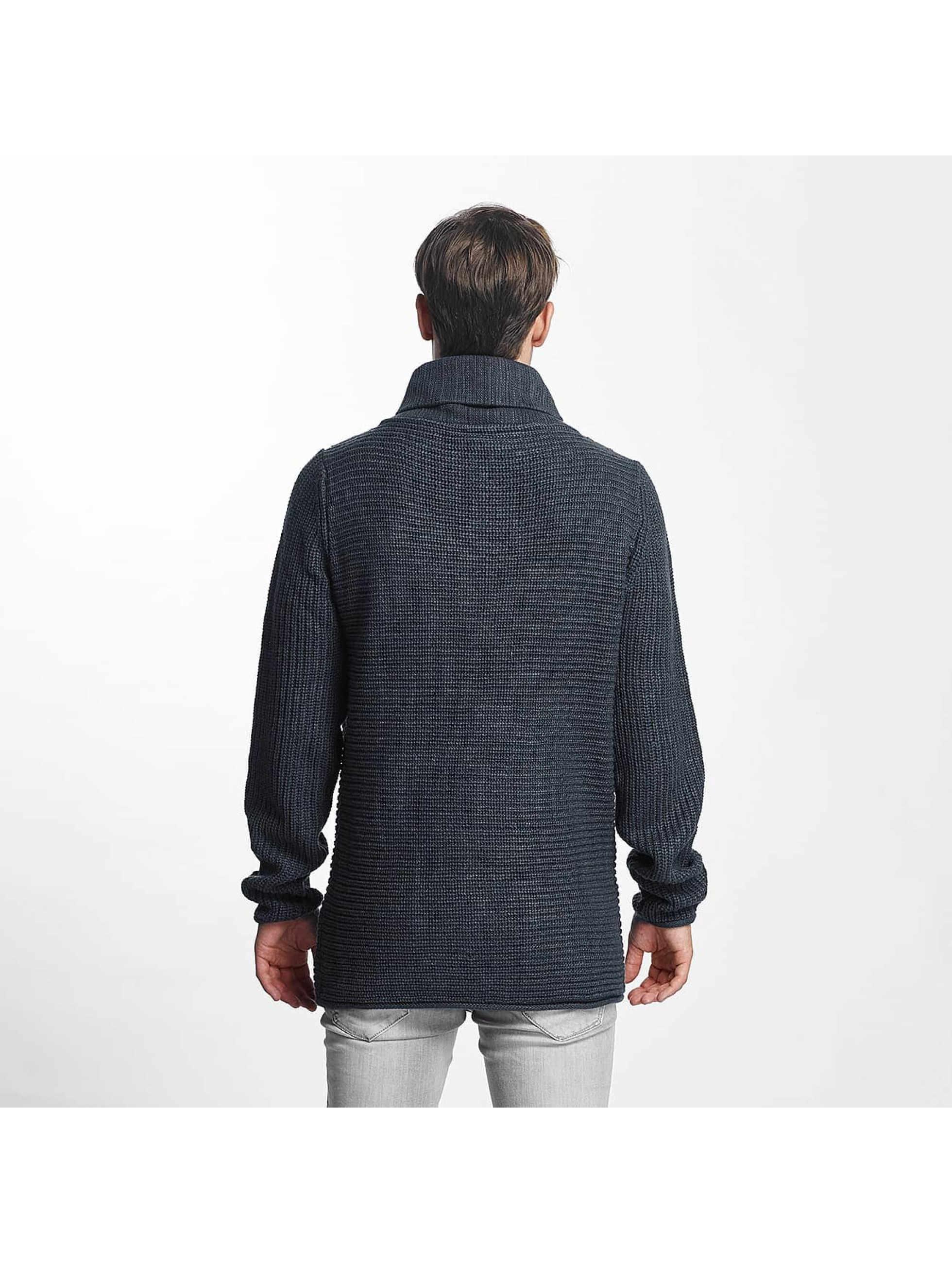 Sublevel Pullover Turtle blue