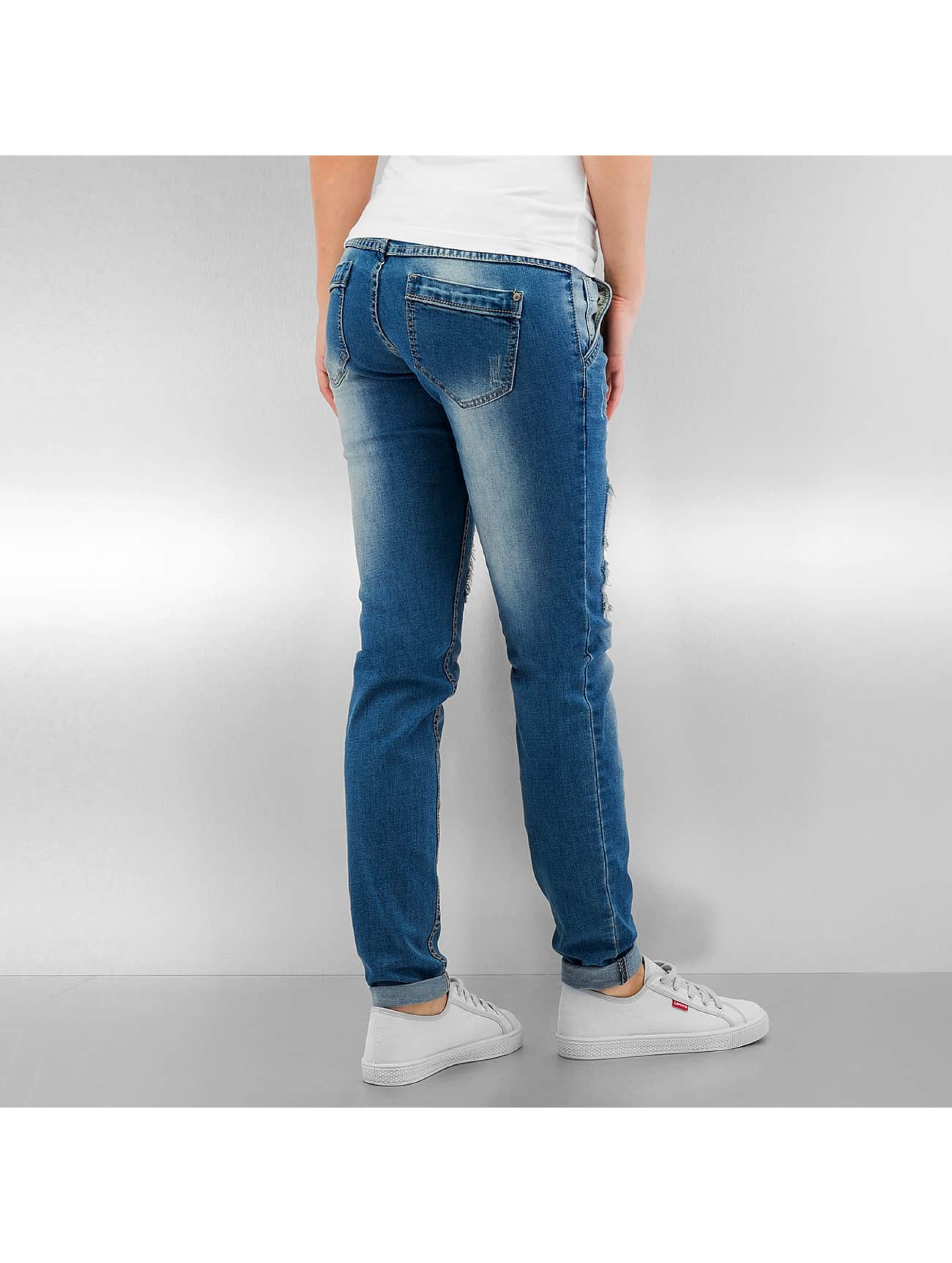 Sublevel Skinny Jeans Daisy blue