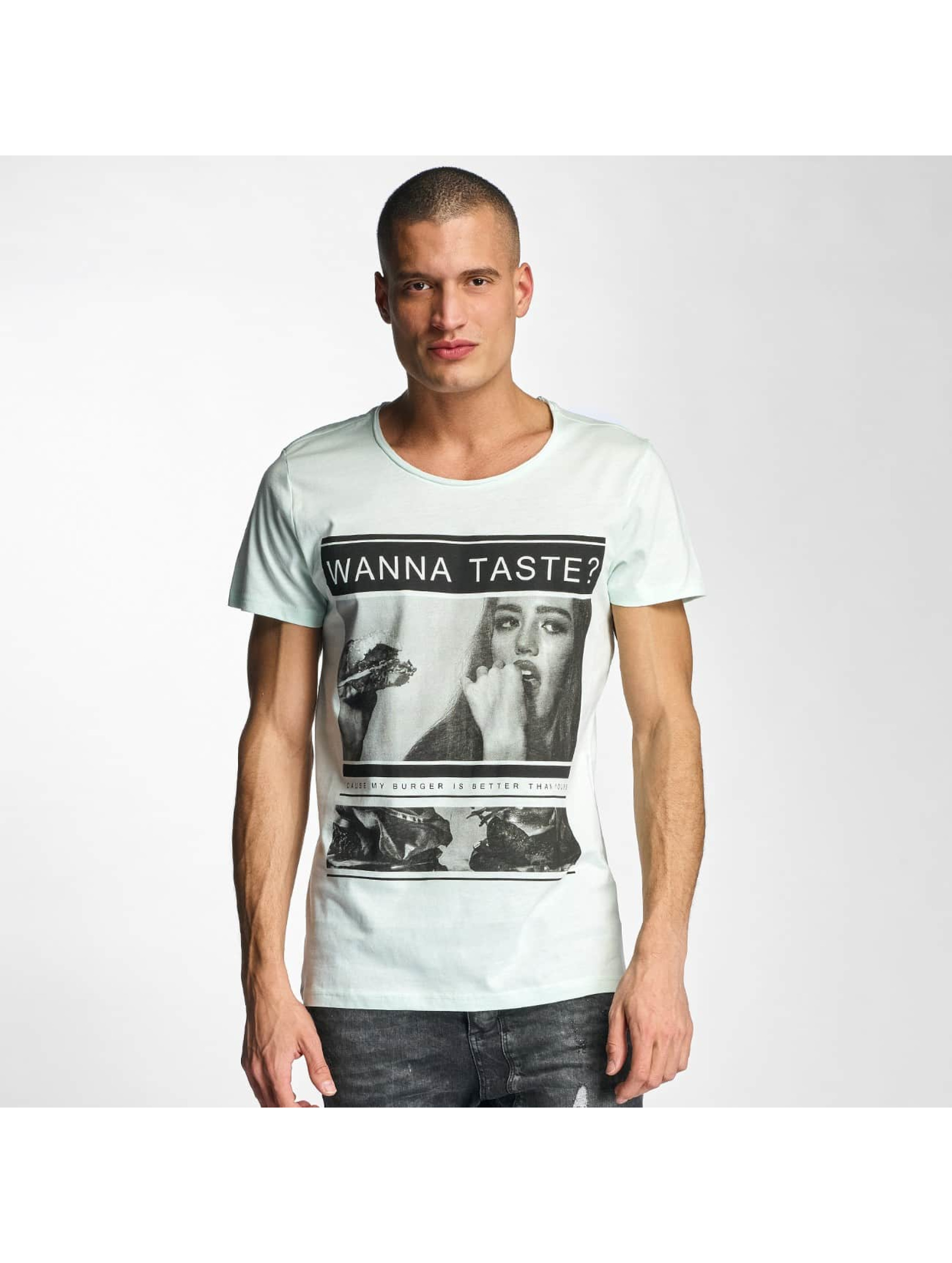 Sublevel T-Shirt Wanna Taste ? green