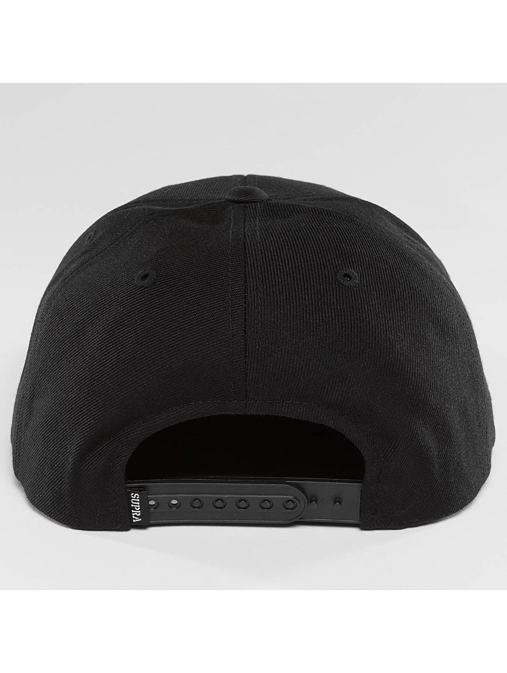 Supra Snapback Cap Icon black