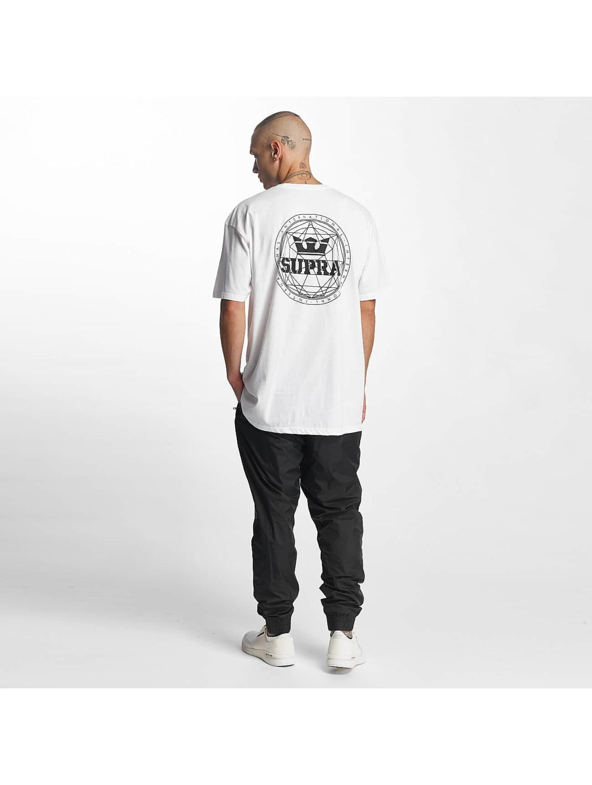 Supra T-Shirt Geo Regular white