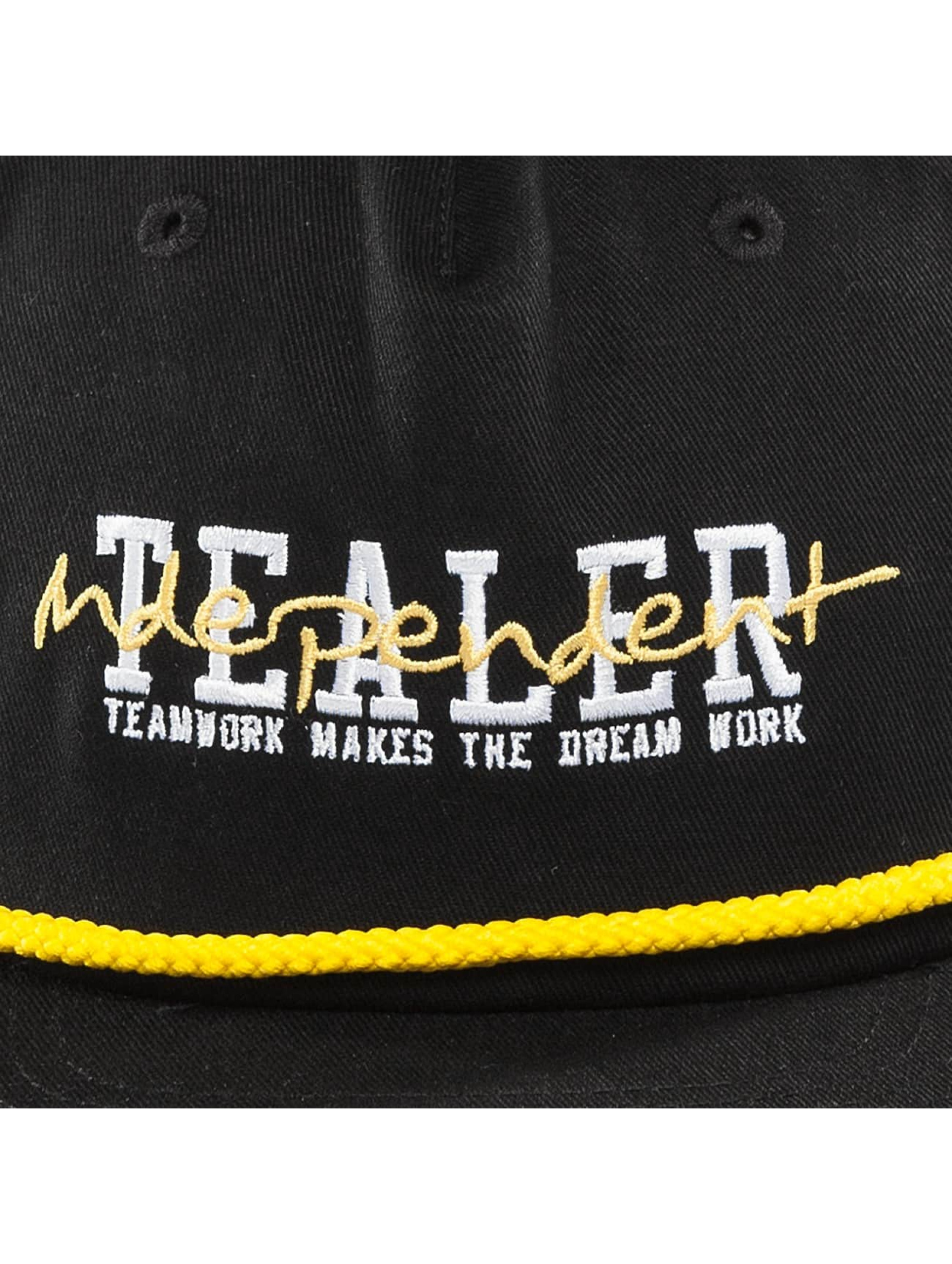 Tealer 5 Panel Cap Independent black