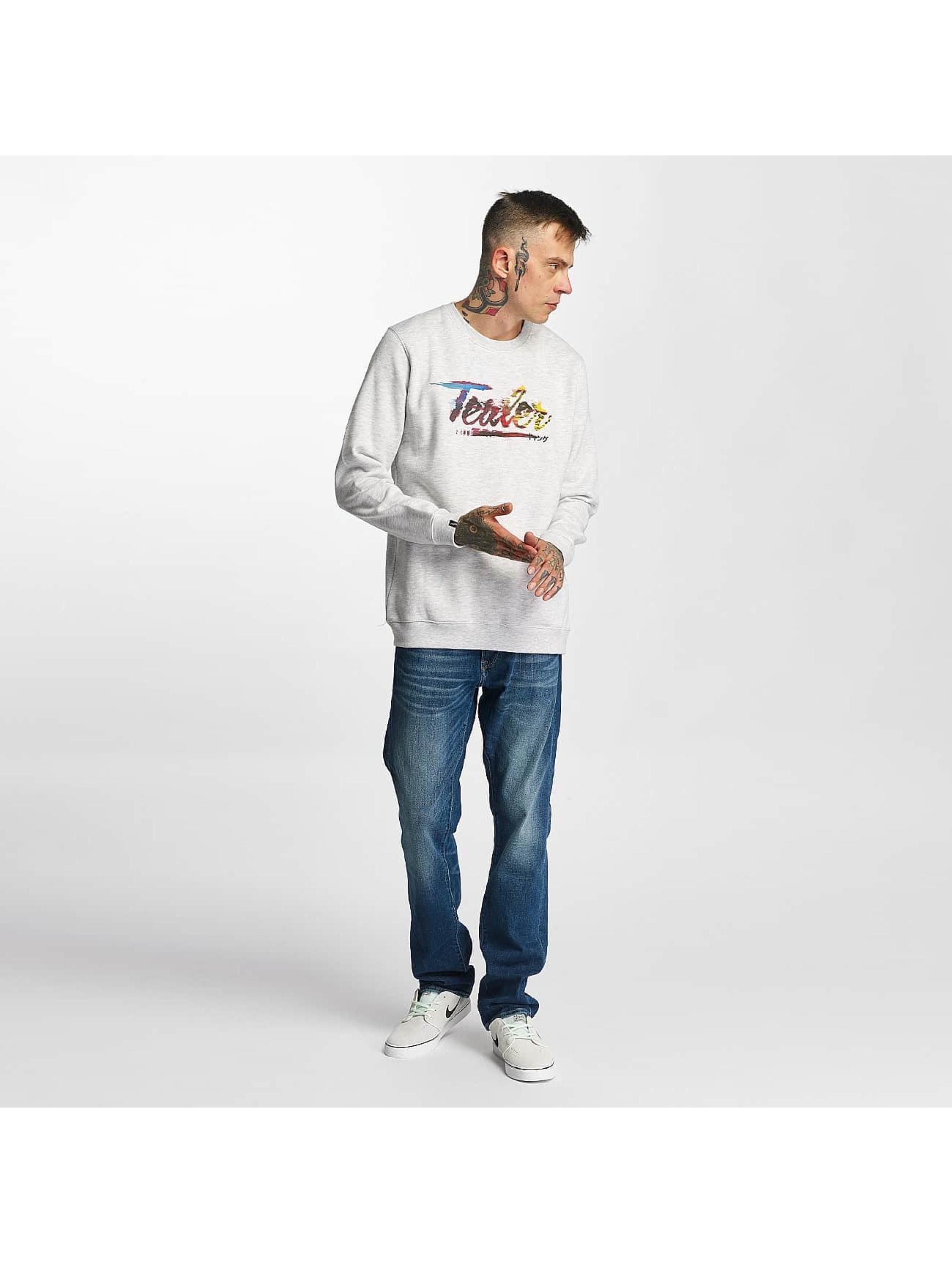 Tealer Pullover Glitch Color gray