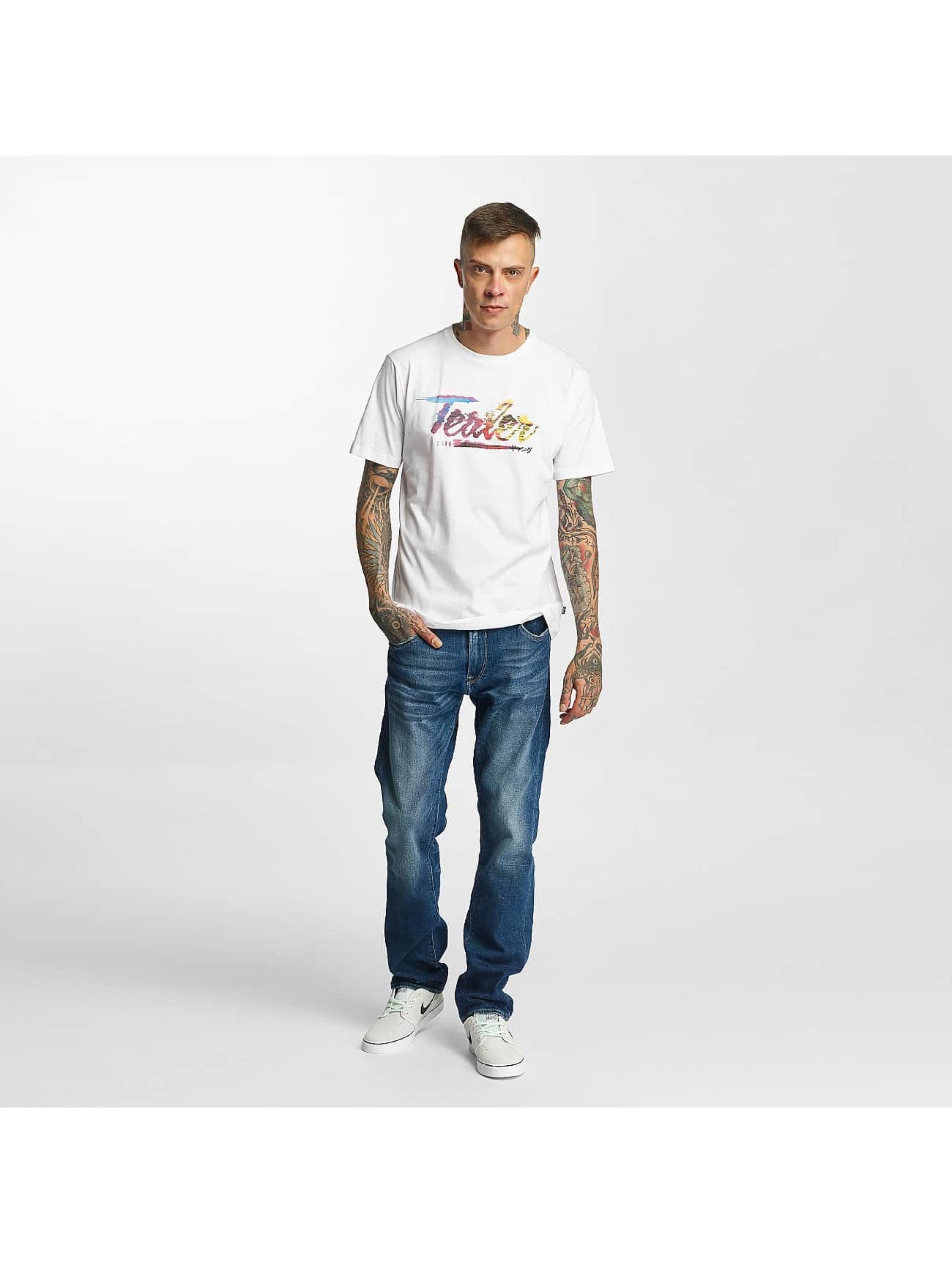 Tealer T-Shirt Glitch Color white