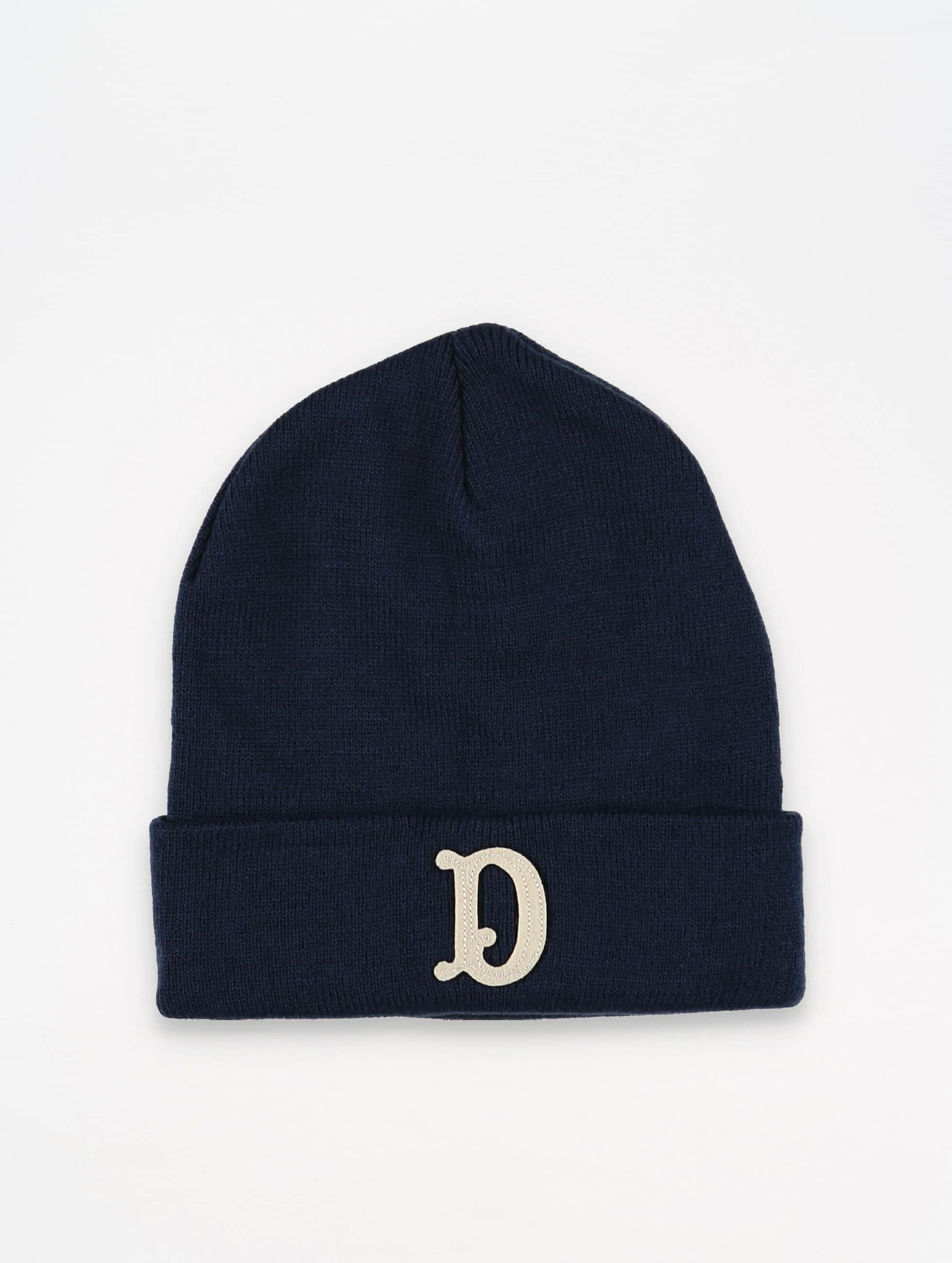 The Dudes Hat-1 D Patch blue