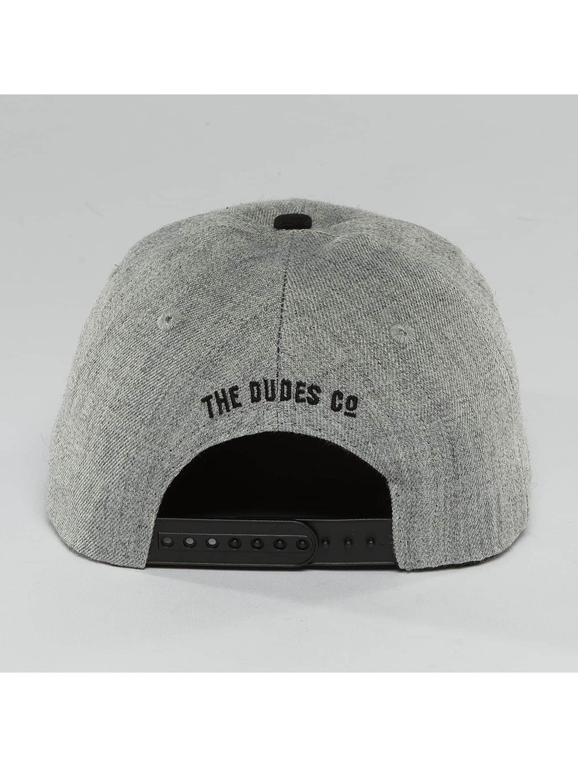 The Dudes Snapback Cap High gray