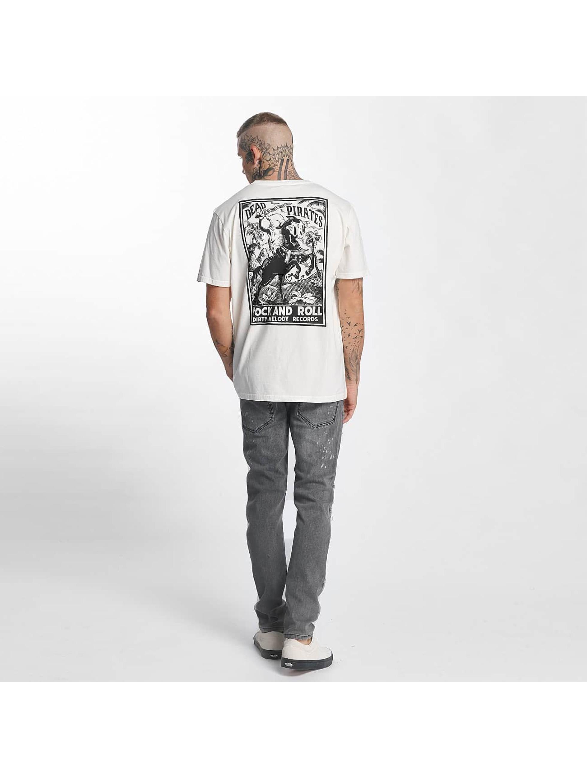 The Dudes T-Shirt Dead Pirates white