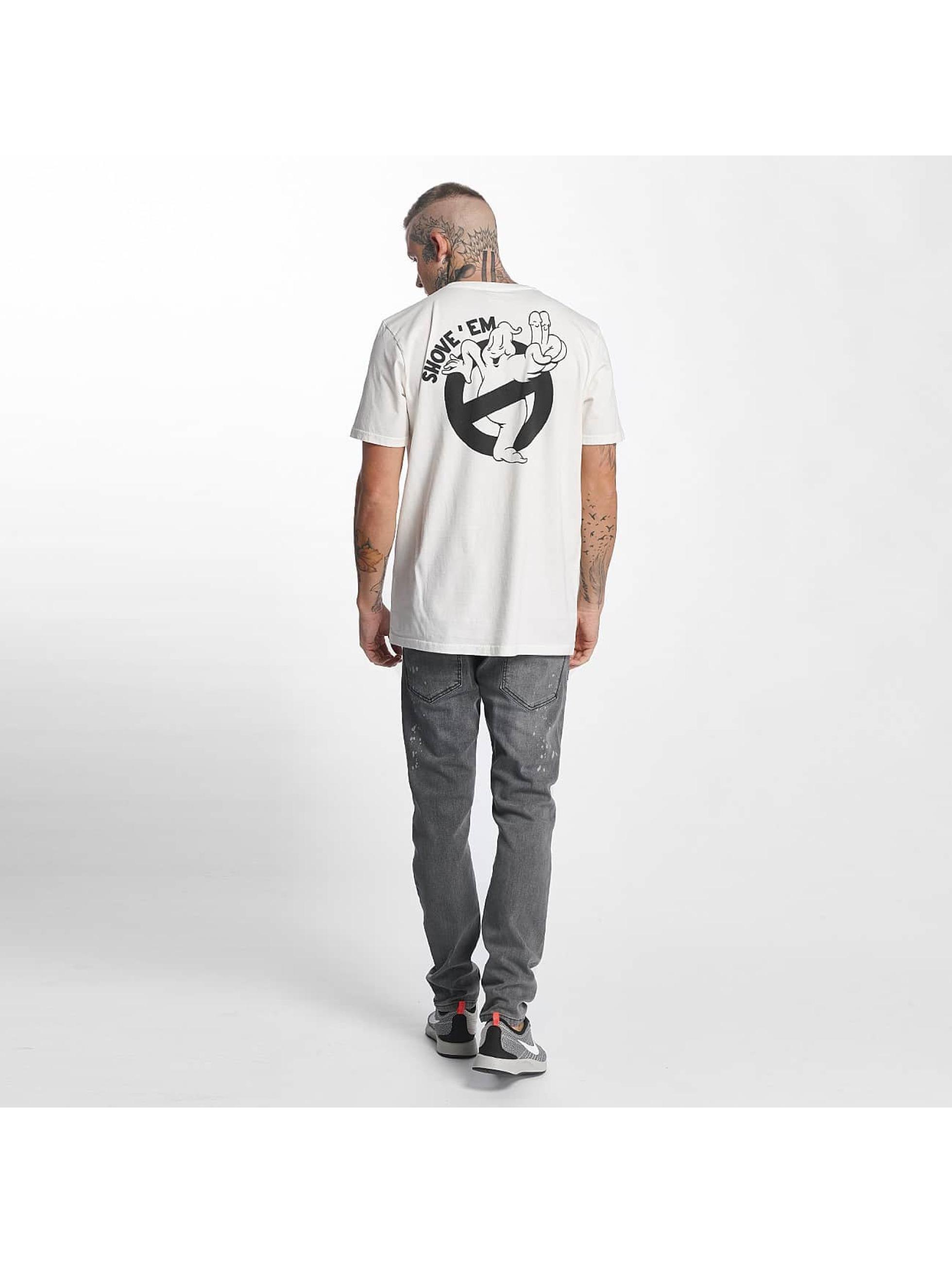 The Dudes T-Shirt Shove Em white