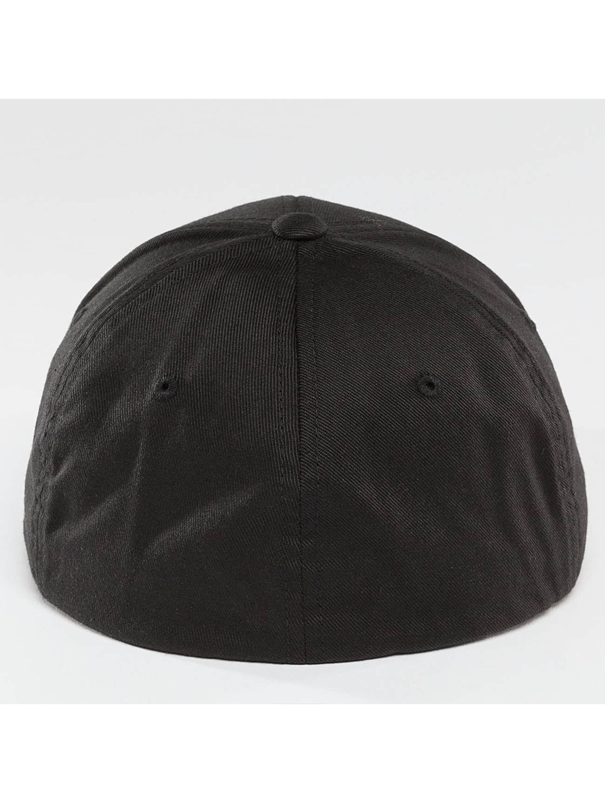 Thug Life Basic Flexfitted Cap Basic Skull Flexfit black