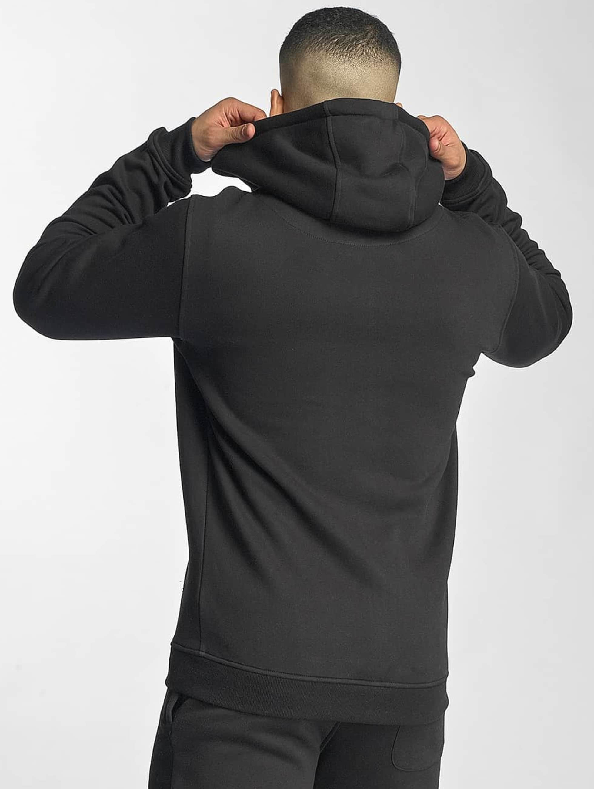 Thug Life Basic Zip Hoodie Chest Cities black
