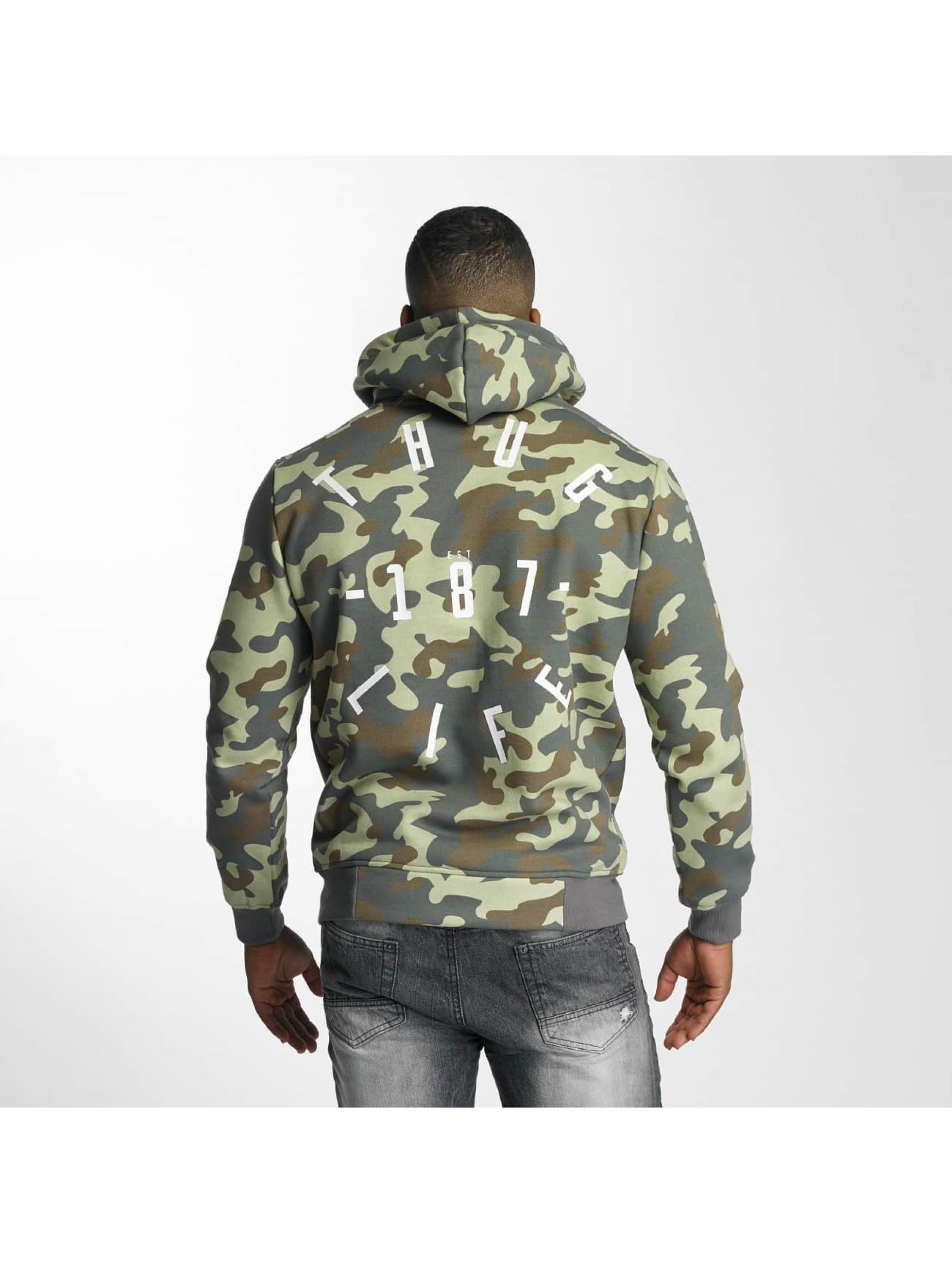 Thug Life Hoodie Stamp camouflage