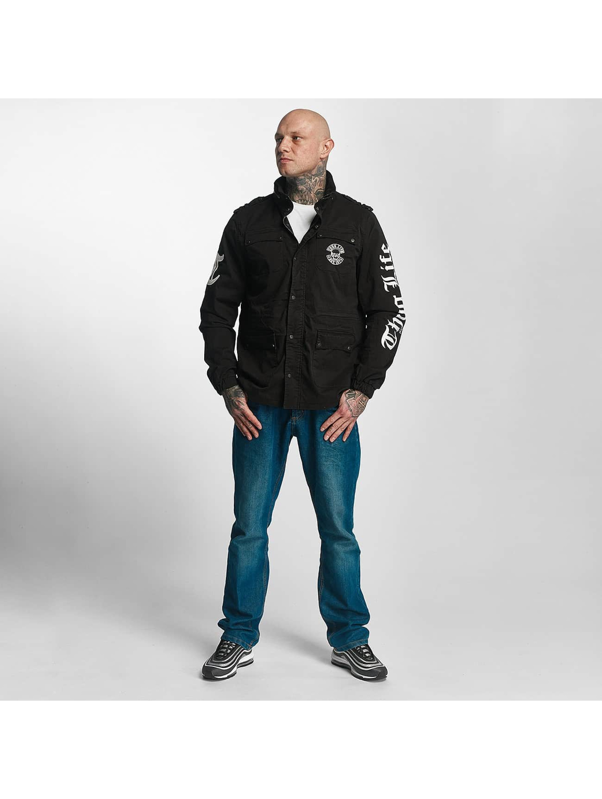 Thug Life Lightweight Jacket 187 black