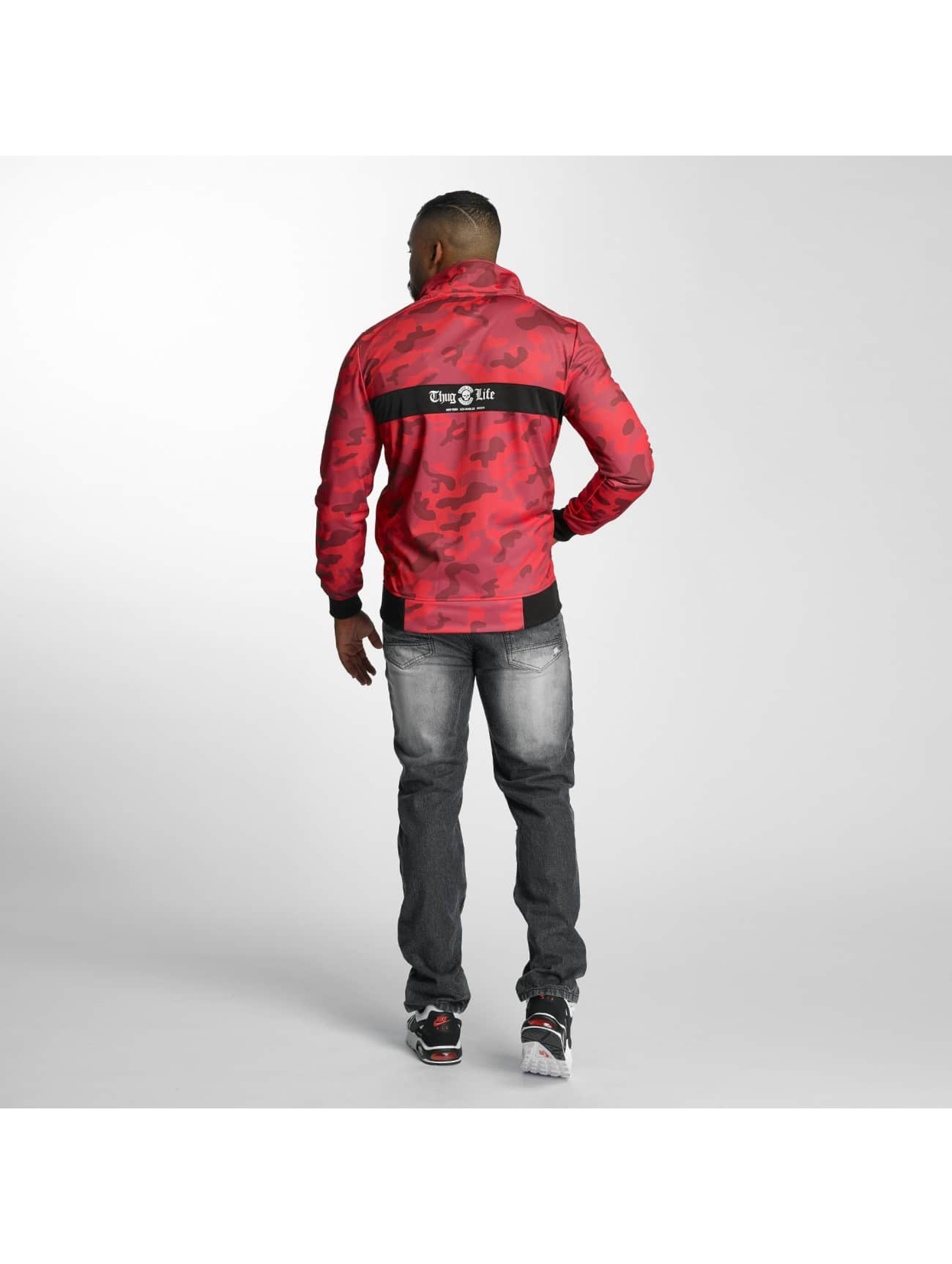 Thug Life Lightweight Jacket Force Track red