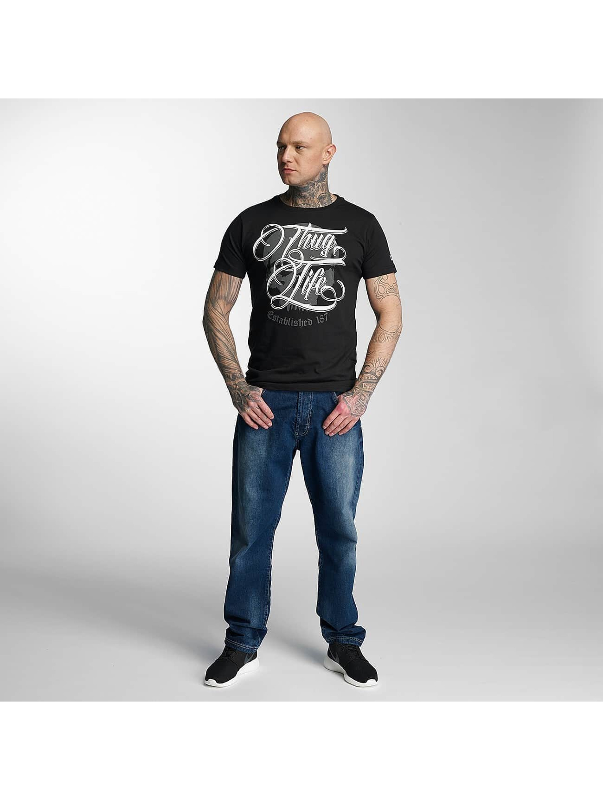 Thug Life T-Shirt 187 black