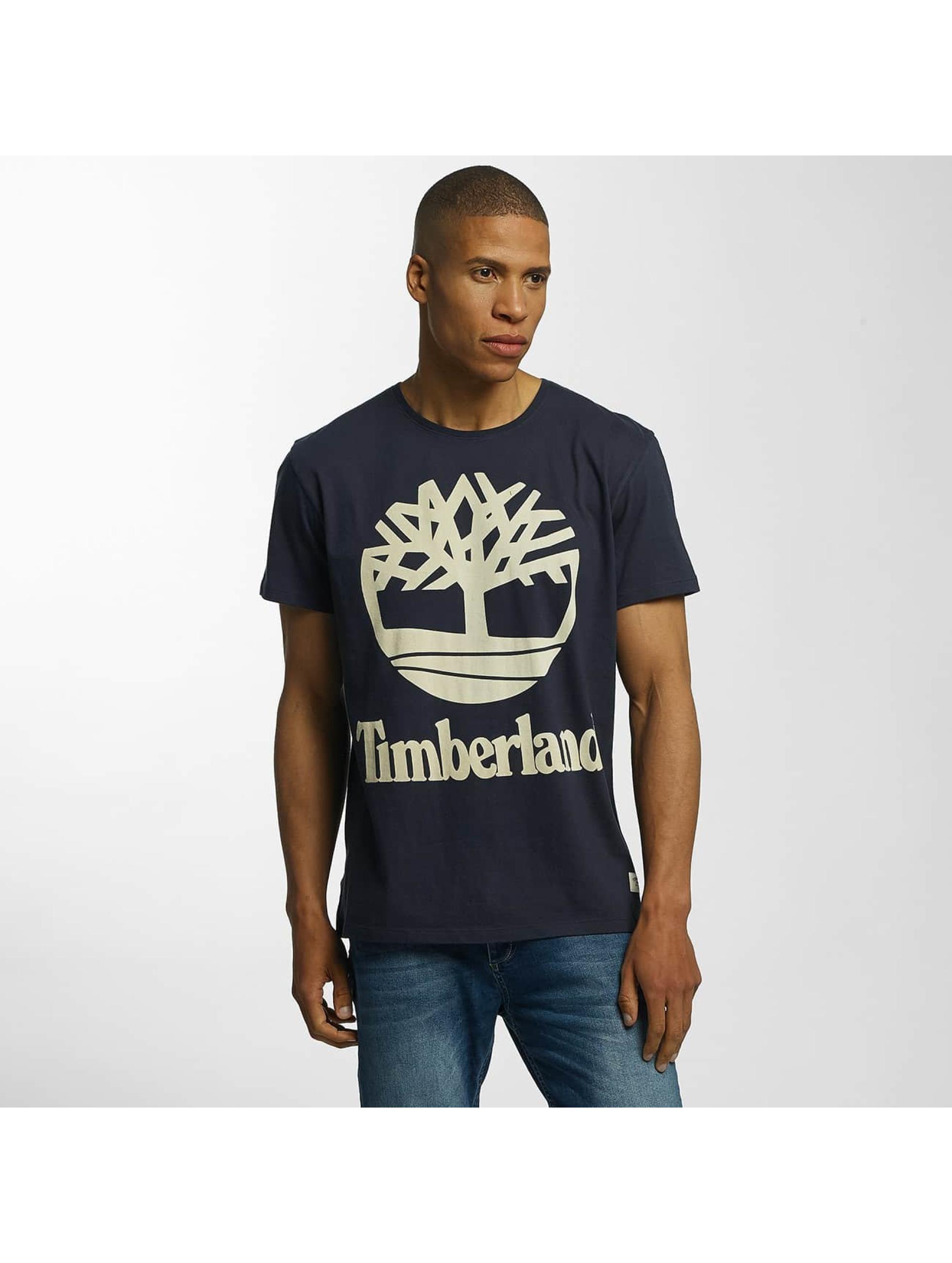 Timberland T-Shirt Big Logo gray