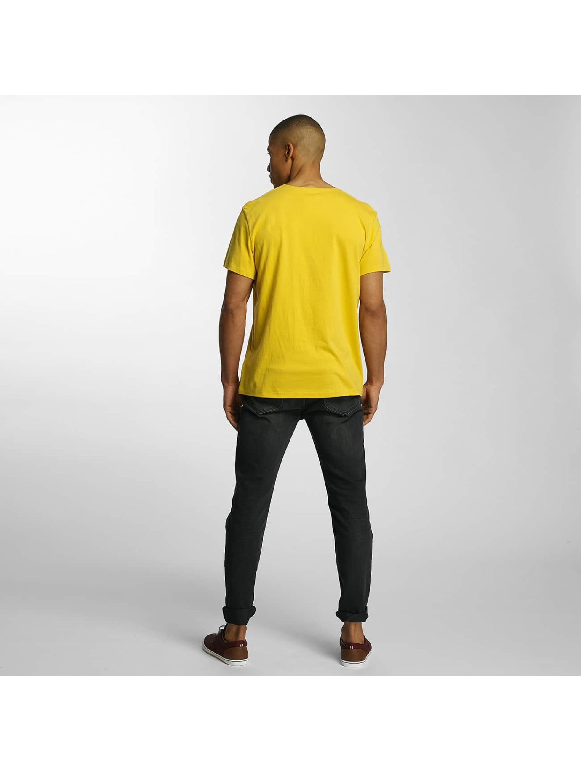 Timberland T-Shirt Big Logo yellow