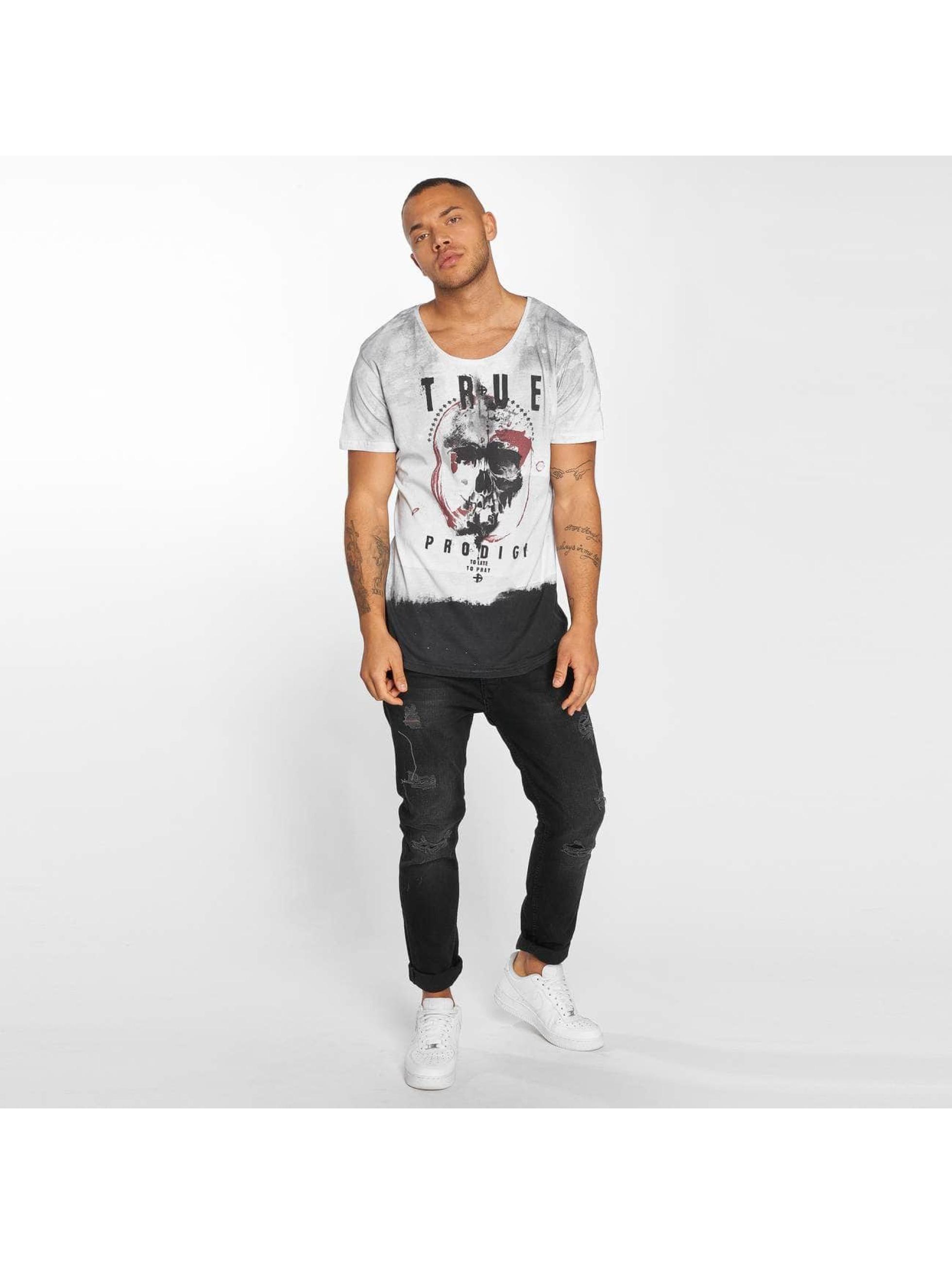 trueprodigy T-Shirt To Late To Pray gray
