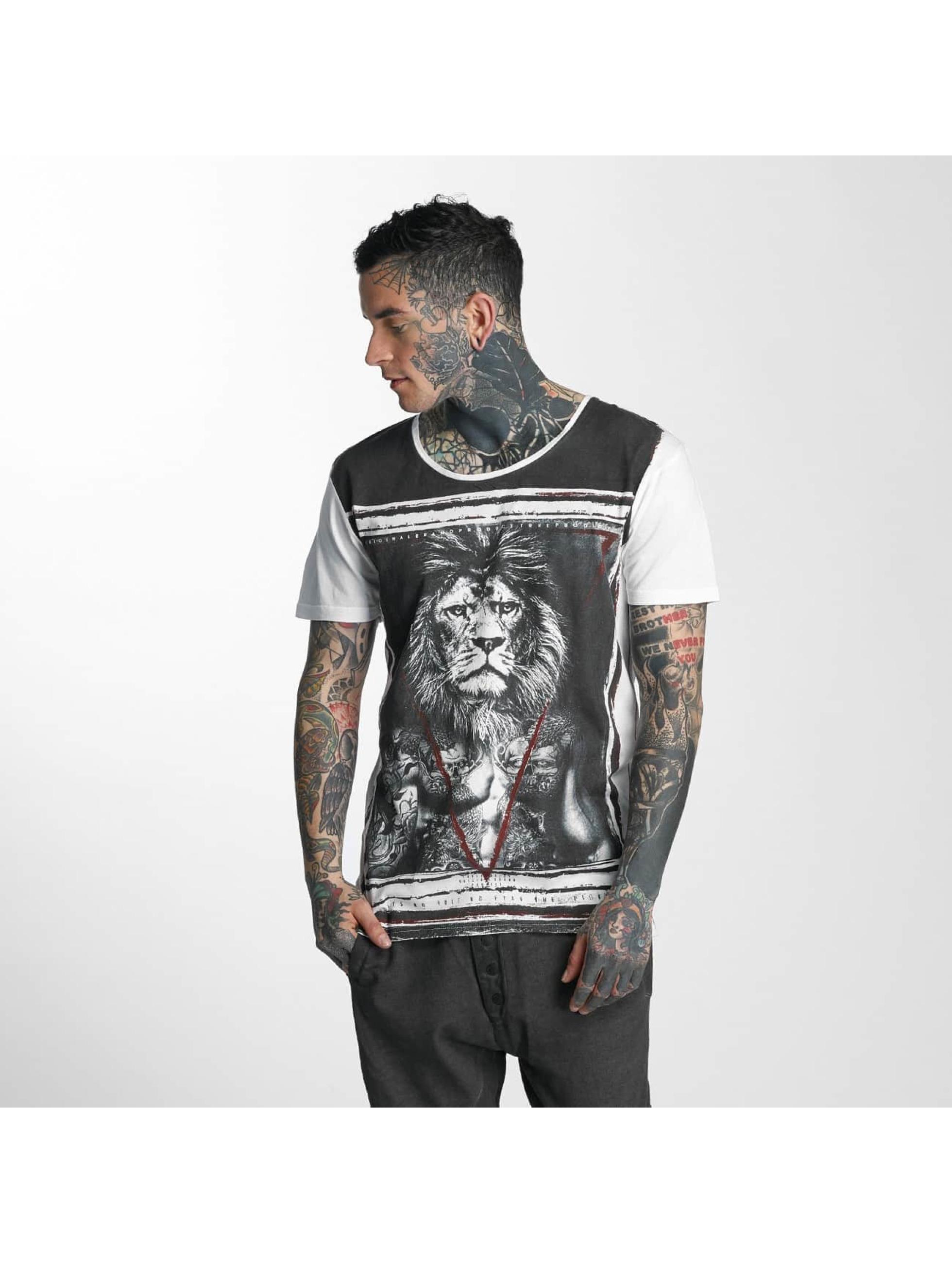 trueprodigy T-Shirt Lionhead white