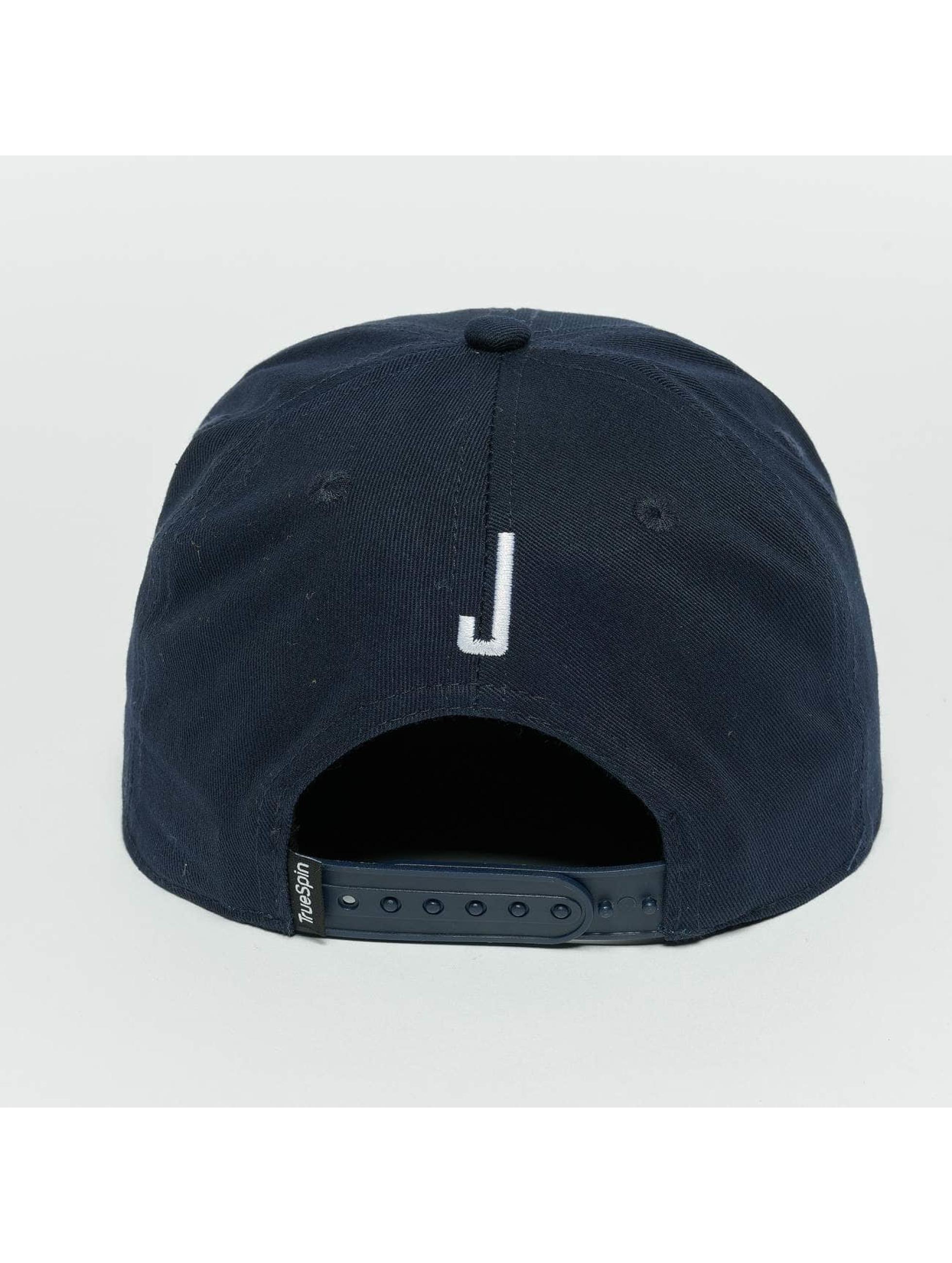 TrueSpin Snapback Cap Kids ABC J blue