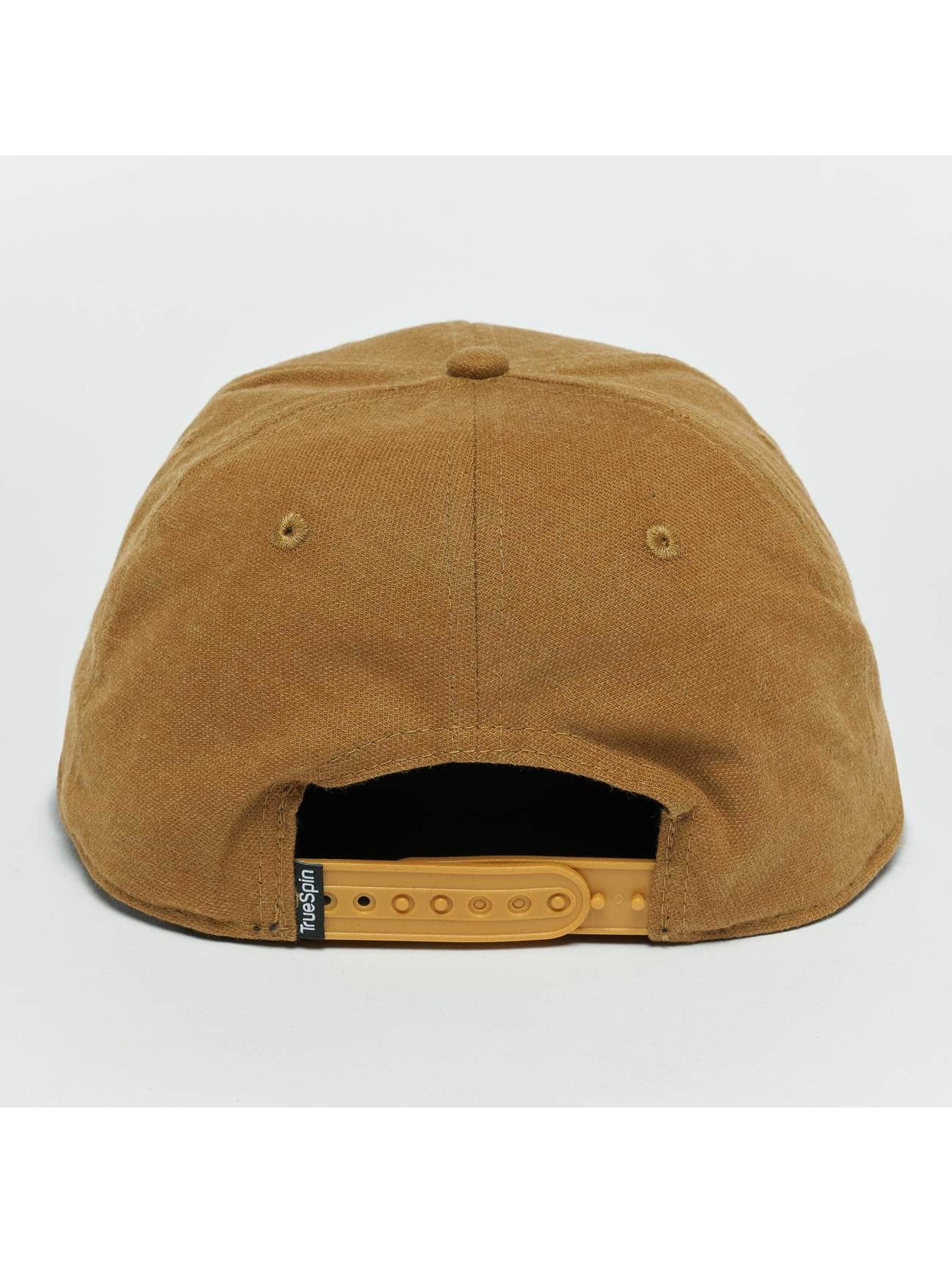 TrueSpin Snapback Cap Decent brown