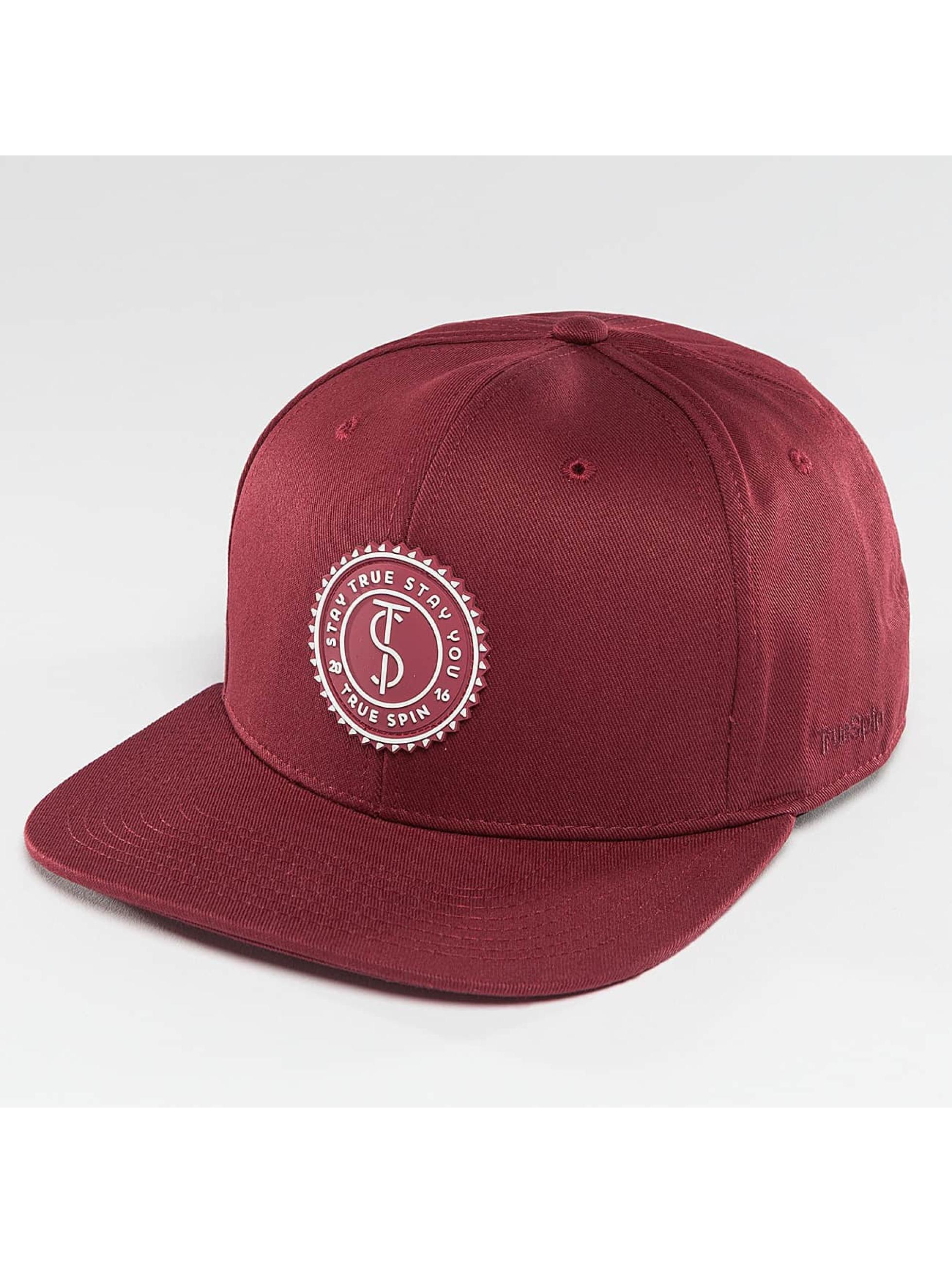 TrueSpin Snapback Cap Täskulap red