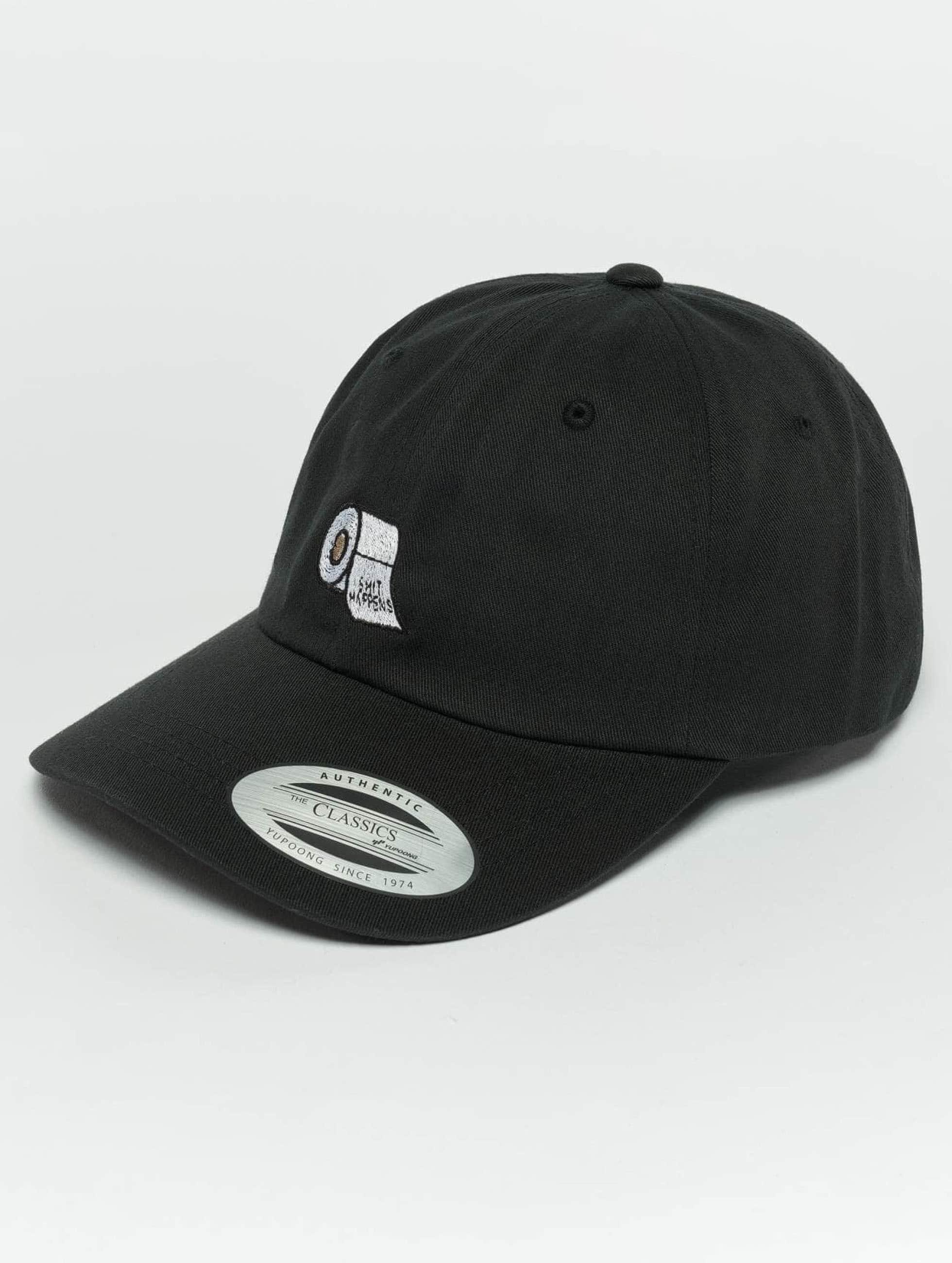 TurnUP Snapback Cap Happens black