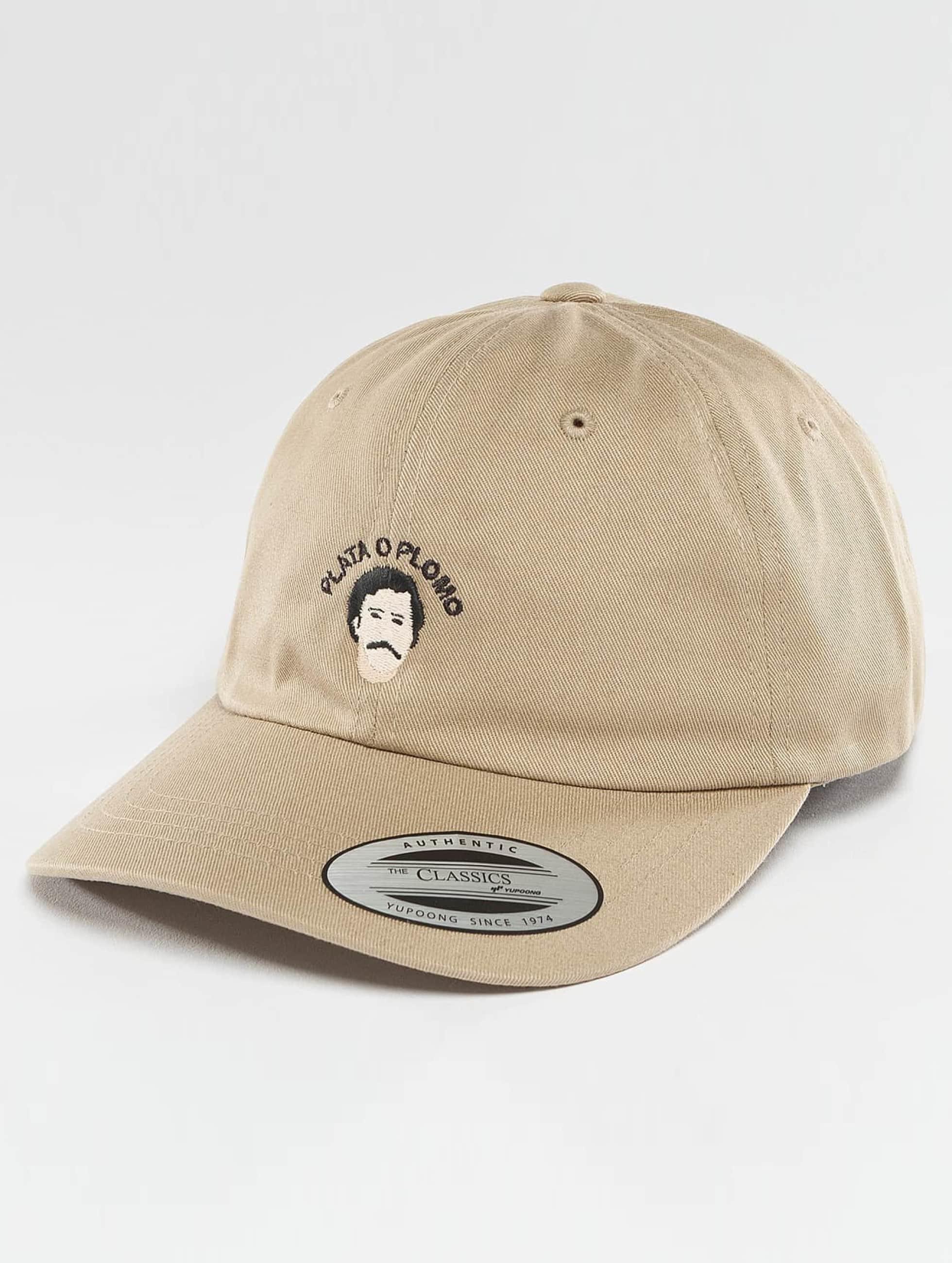 TurnUP Snapback Cap Plata khaki