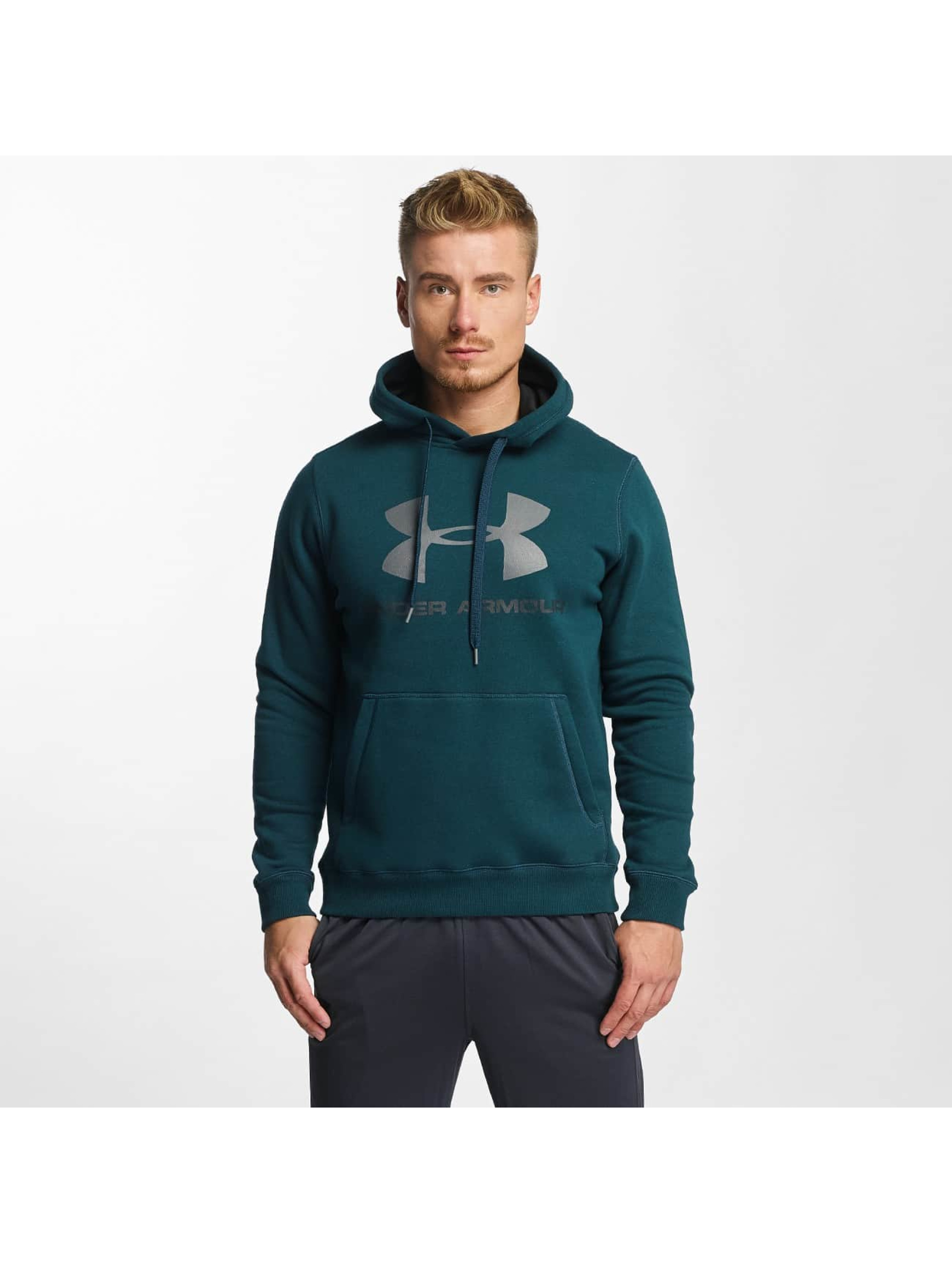 Under Armour Hoodie Rival green
