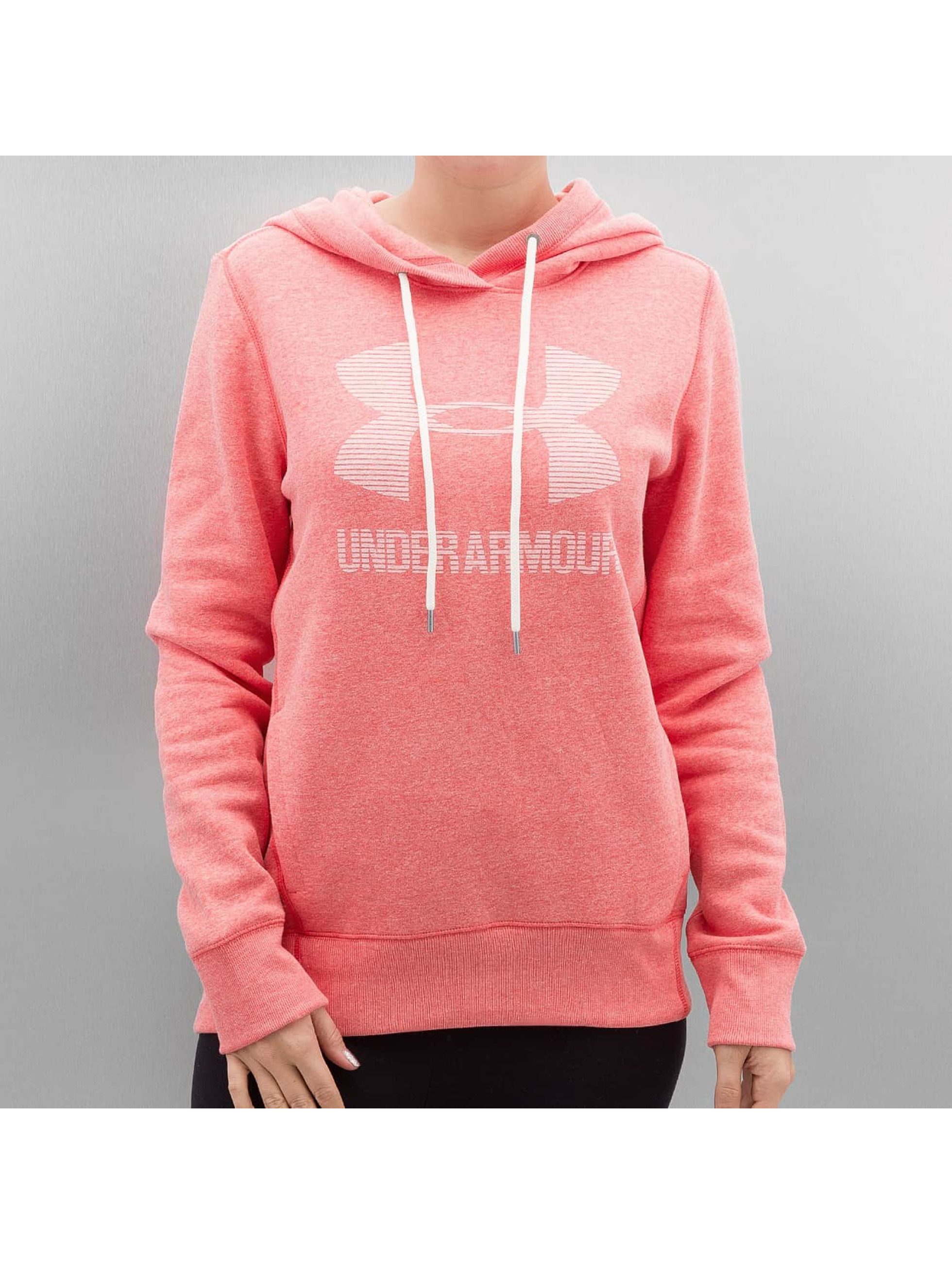 Under Armour Hoodie Favorite Fleece Sportstyle pink